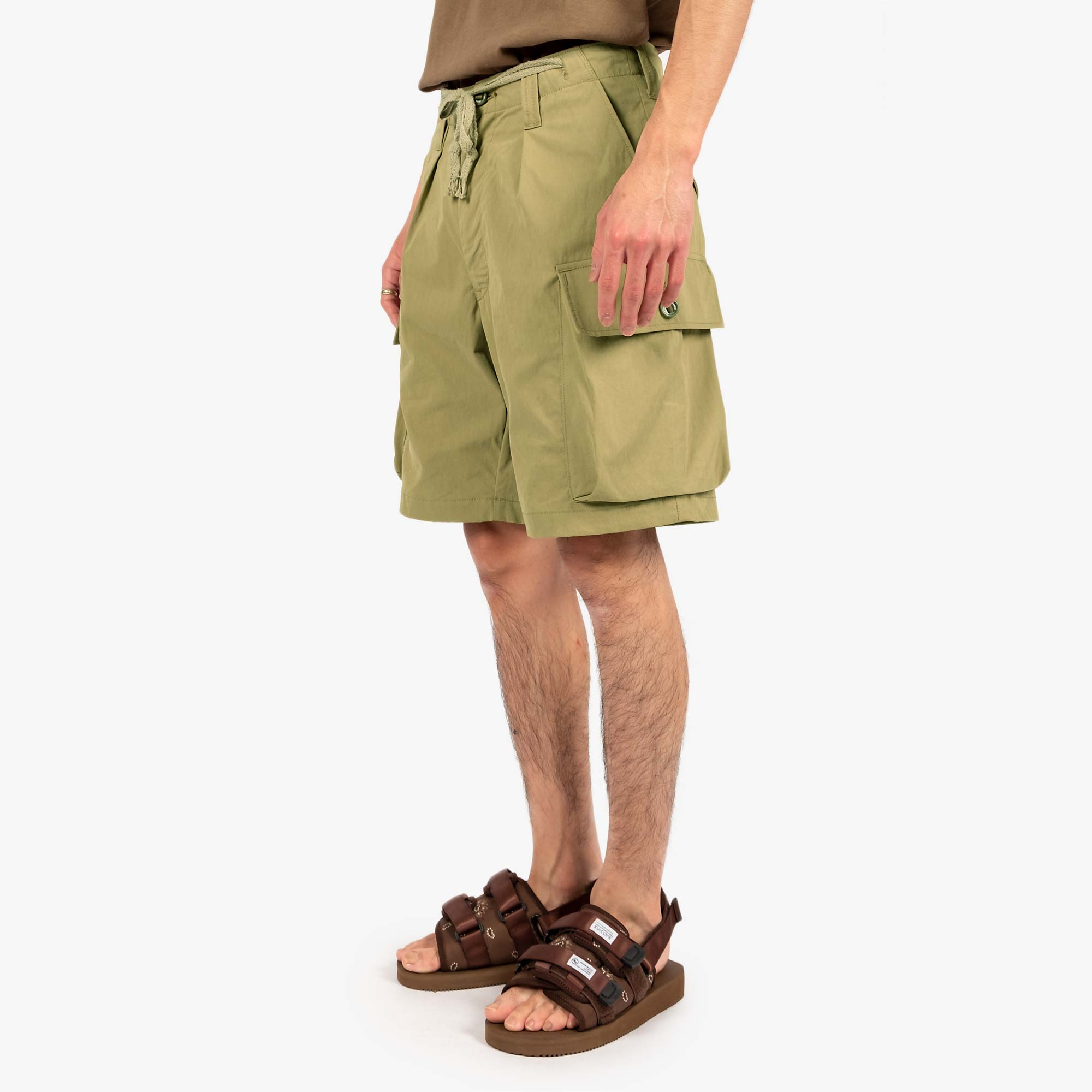 WTAPS Jungle Country Nyco Shorts - Olive Drab 9