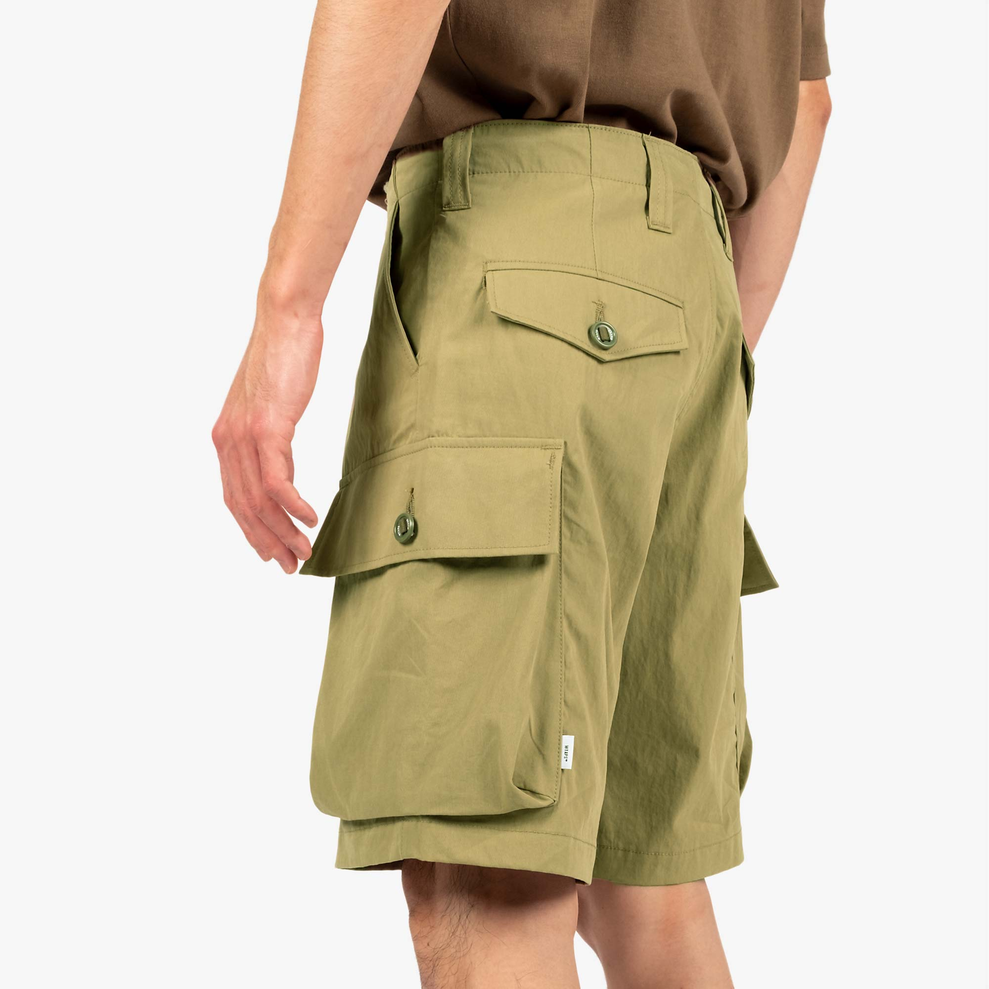 WTAPS Jungle Country Nyco Shorts - Olive Drab 3