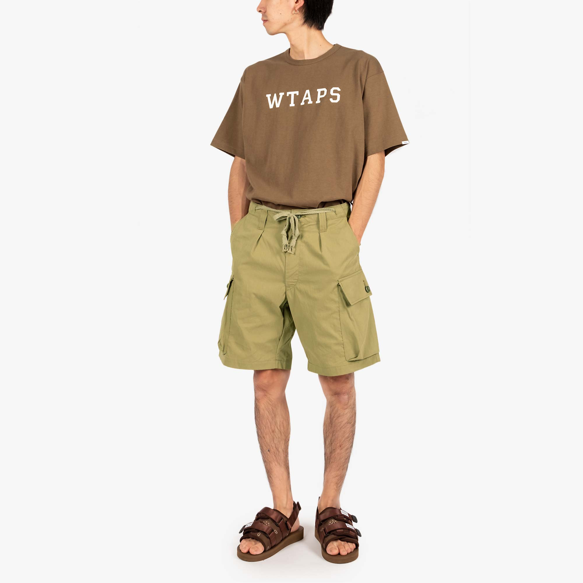WTAPS Jungle Country Nyco Shorts - Olive Drab 2