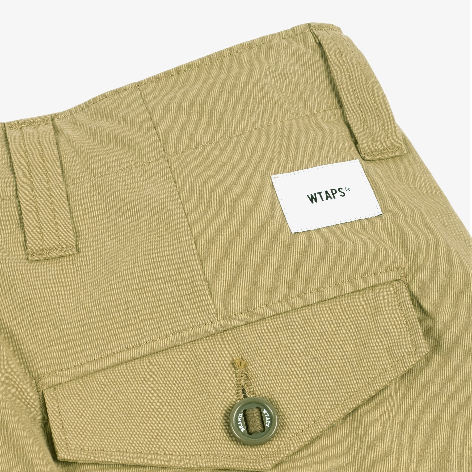 WTAPS Jungle Country Nyco Shorts - Olive Drab 7