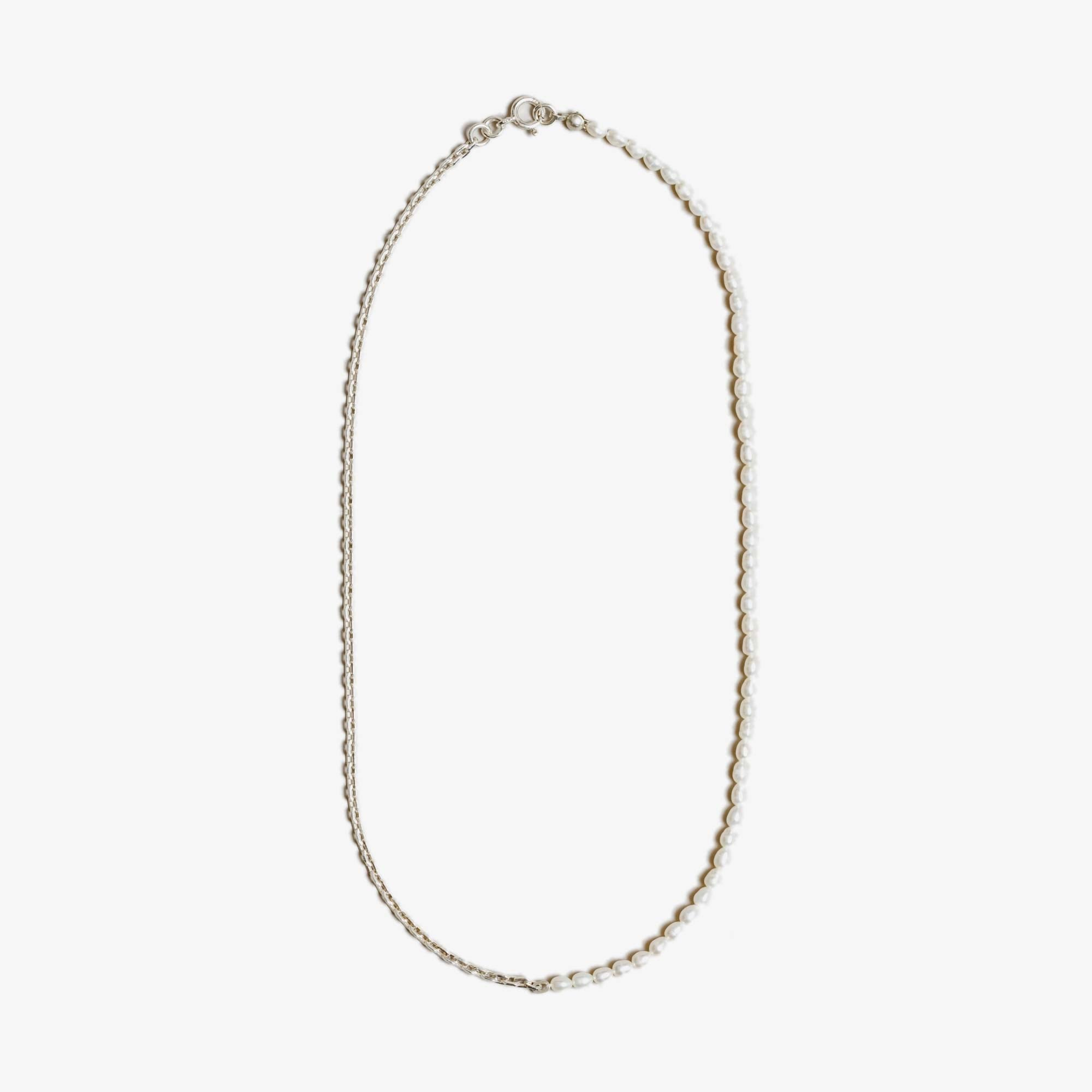 Wolf Circus Effy Necklace - Freshwater Pearl / Silver 1