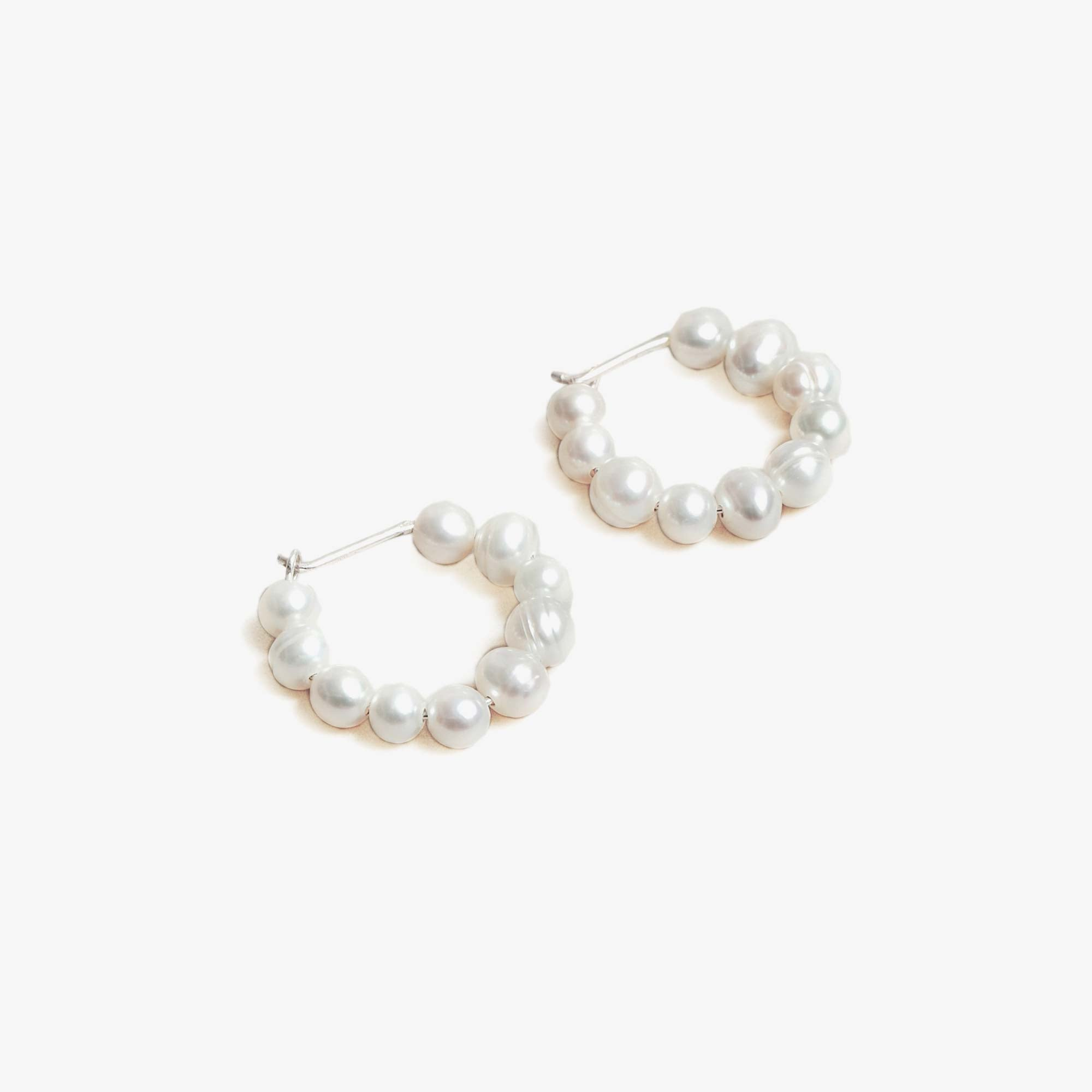 Wolf Circus Estelle Earrings - Freshwater Pearl / Silver 1
