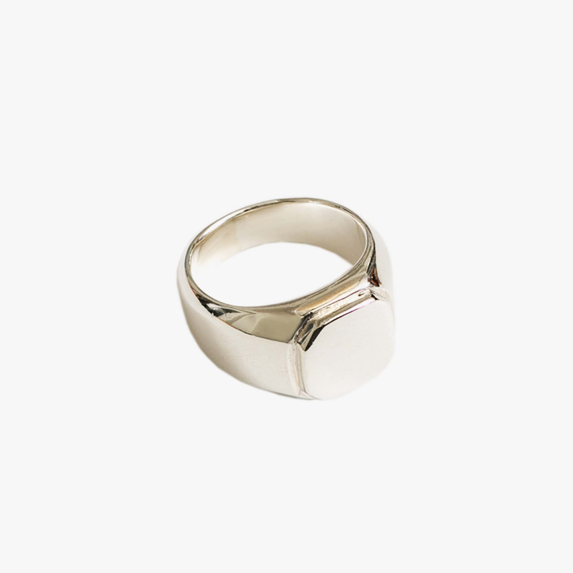 Wolf Circus Leo Signet Ring - Silver 1