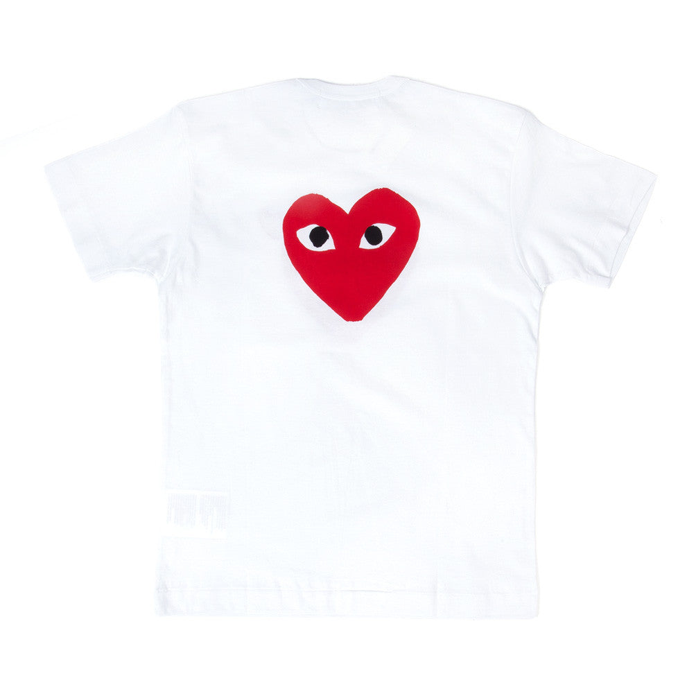 Comme des Garçons - PLAY Front and Back Tee - White 2