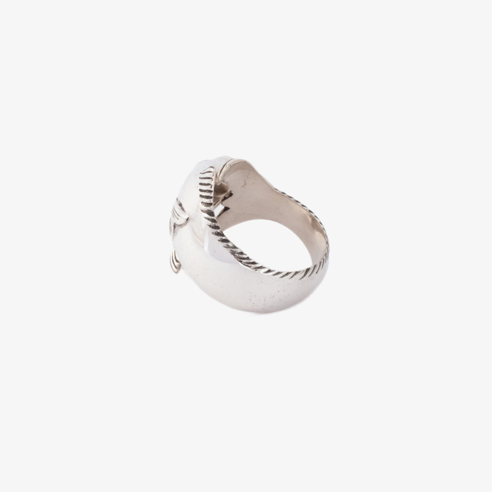 Maple Tuna Ring - Silver 925 3