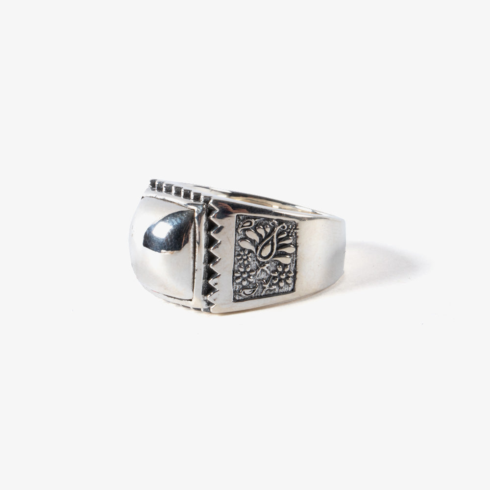 Maple Buick Ring - Silver 2