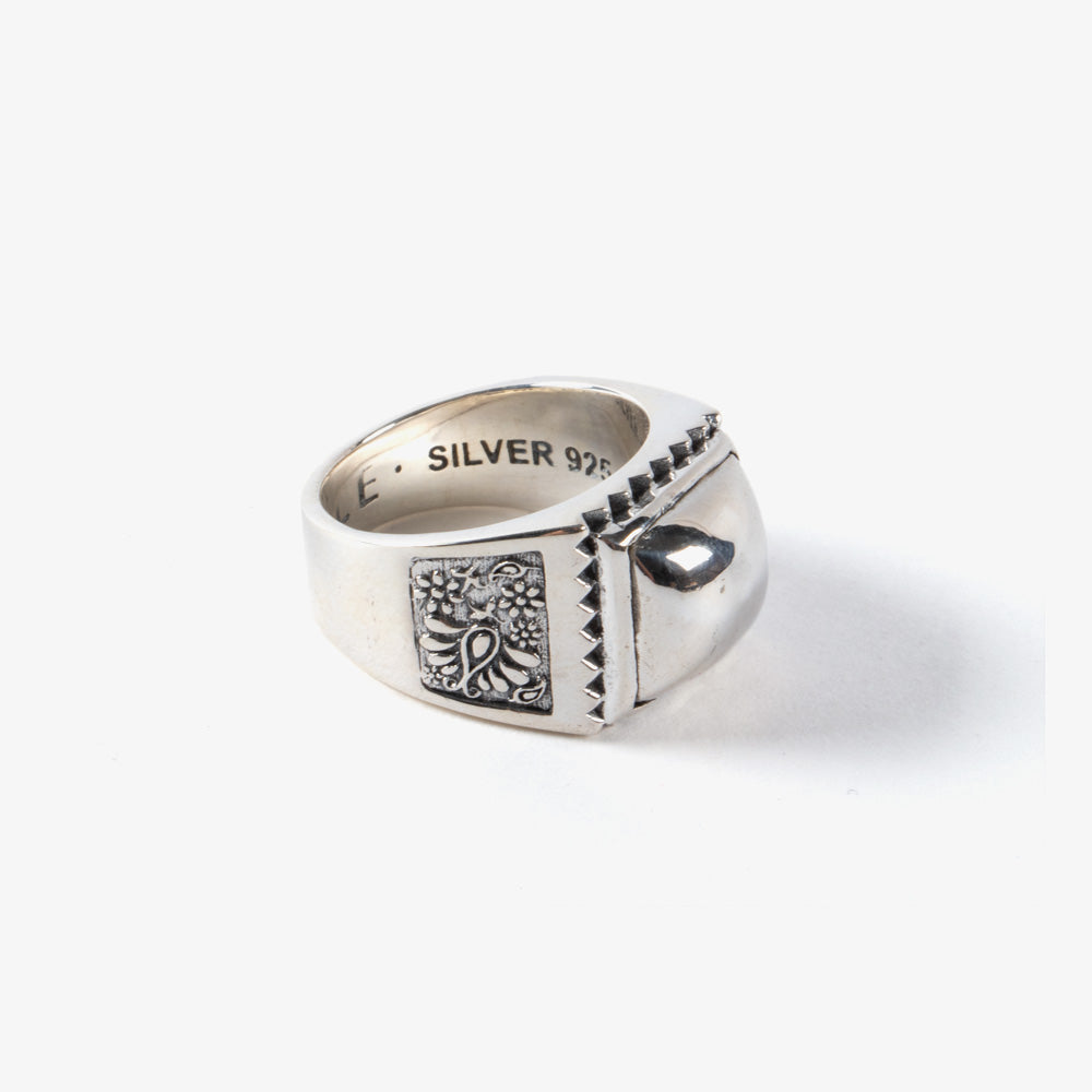 Maple Buick Ring - Silver 3