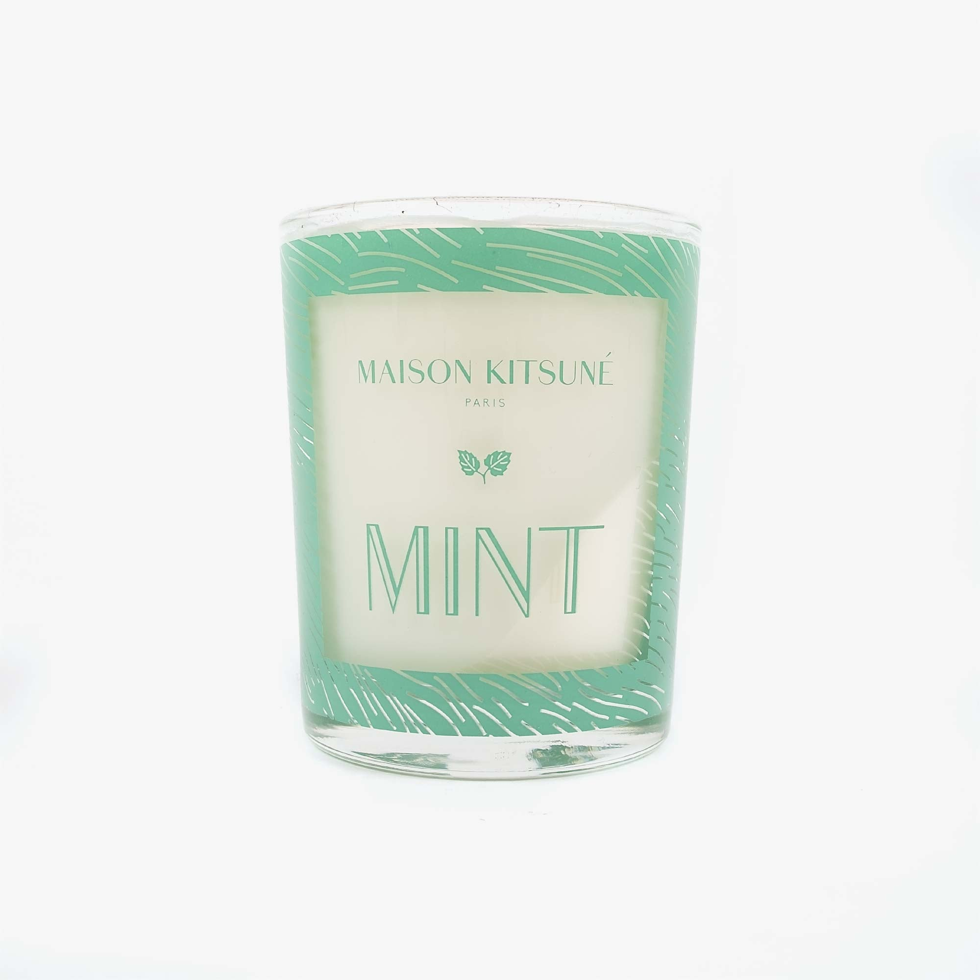 Maison Kitsune Mint Candle - Green 1