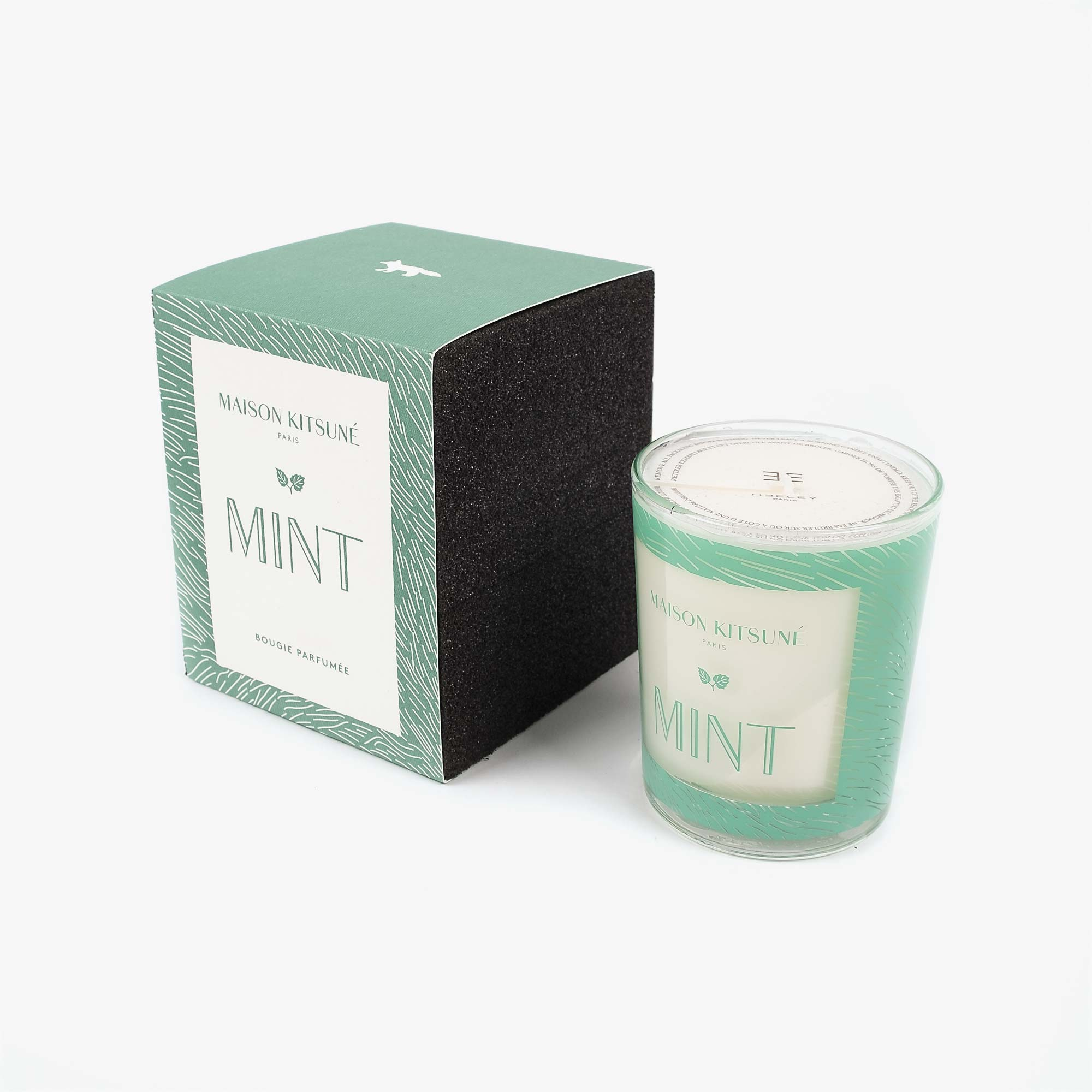 Maison Kitsune Mint Candle - Green 2