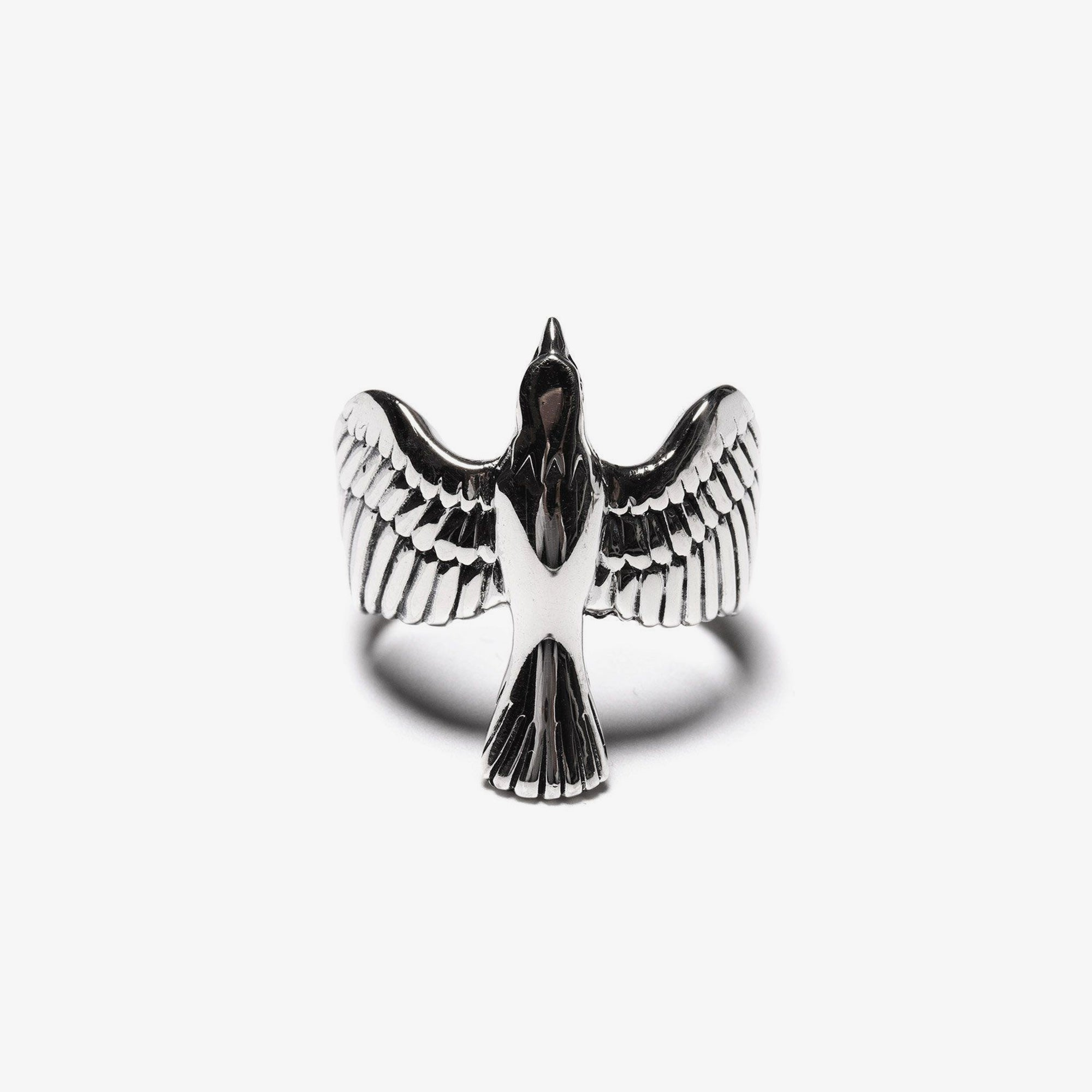 Maple Eagle Ring - Silver 925 1