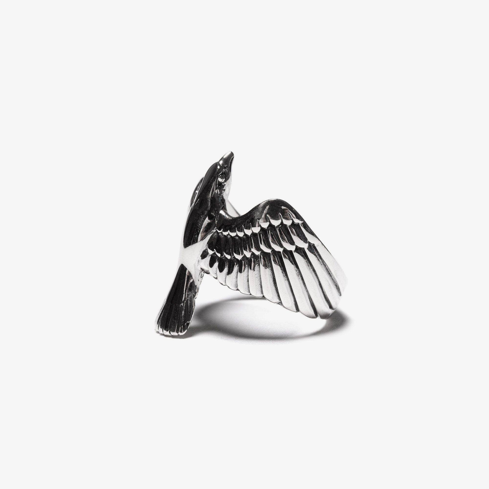 Maple Eagle Ring - Silver 925 2