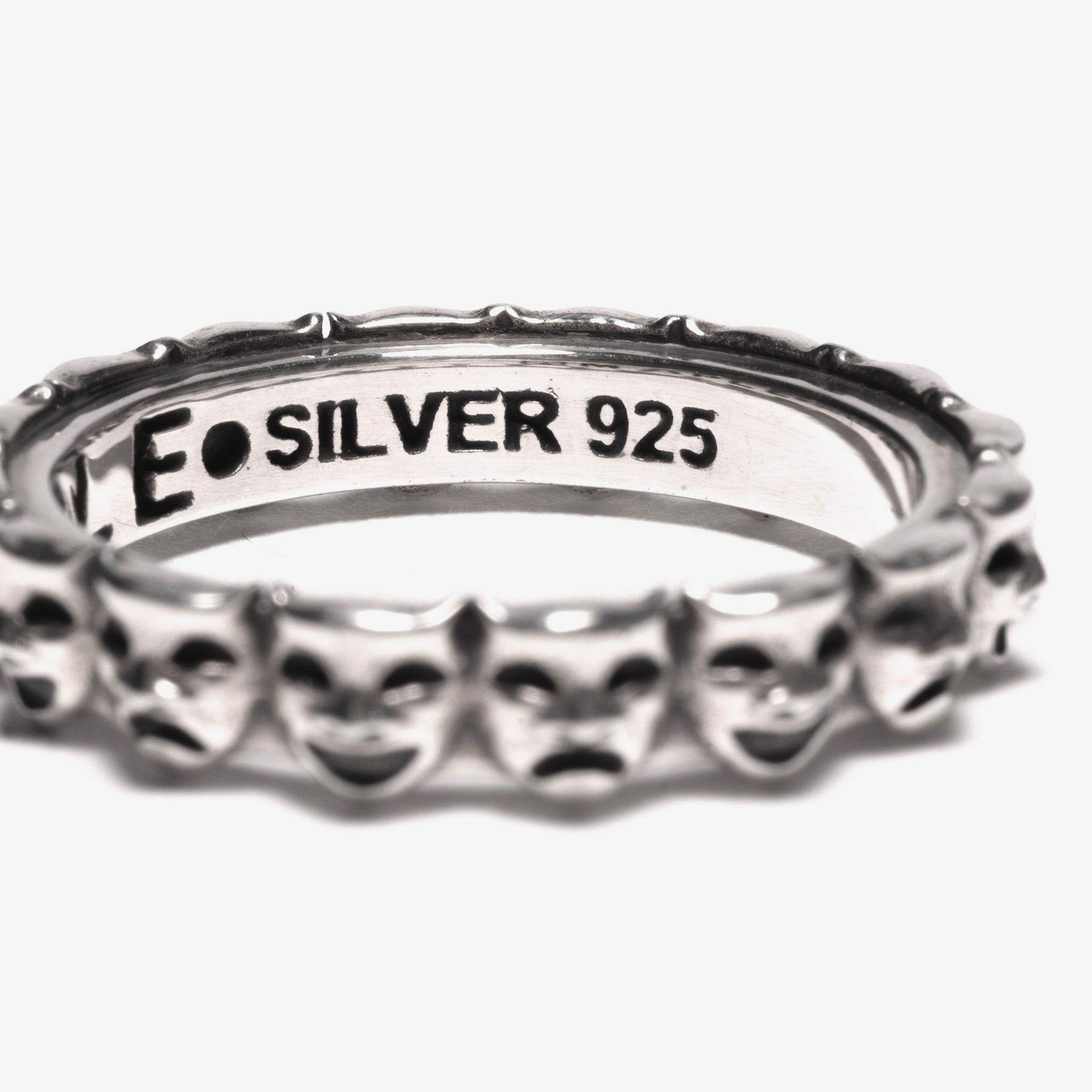 Maple Laugh Now Cry Later Ring - Silver 925 2