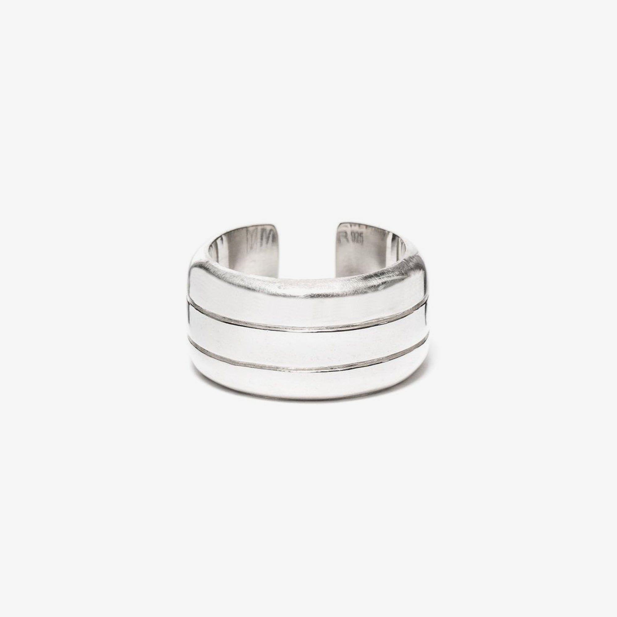 Maple Line Ring - Silver 925 1