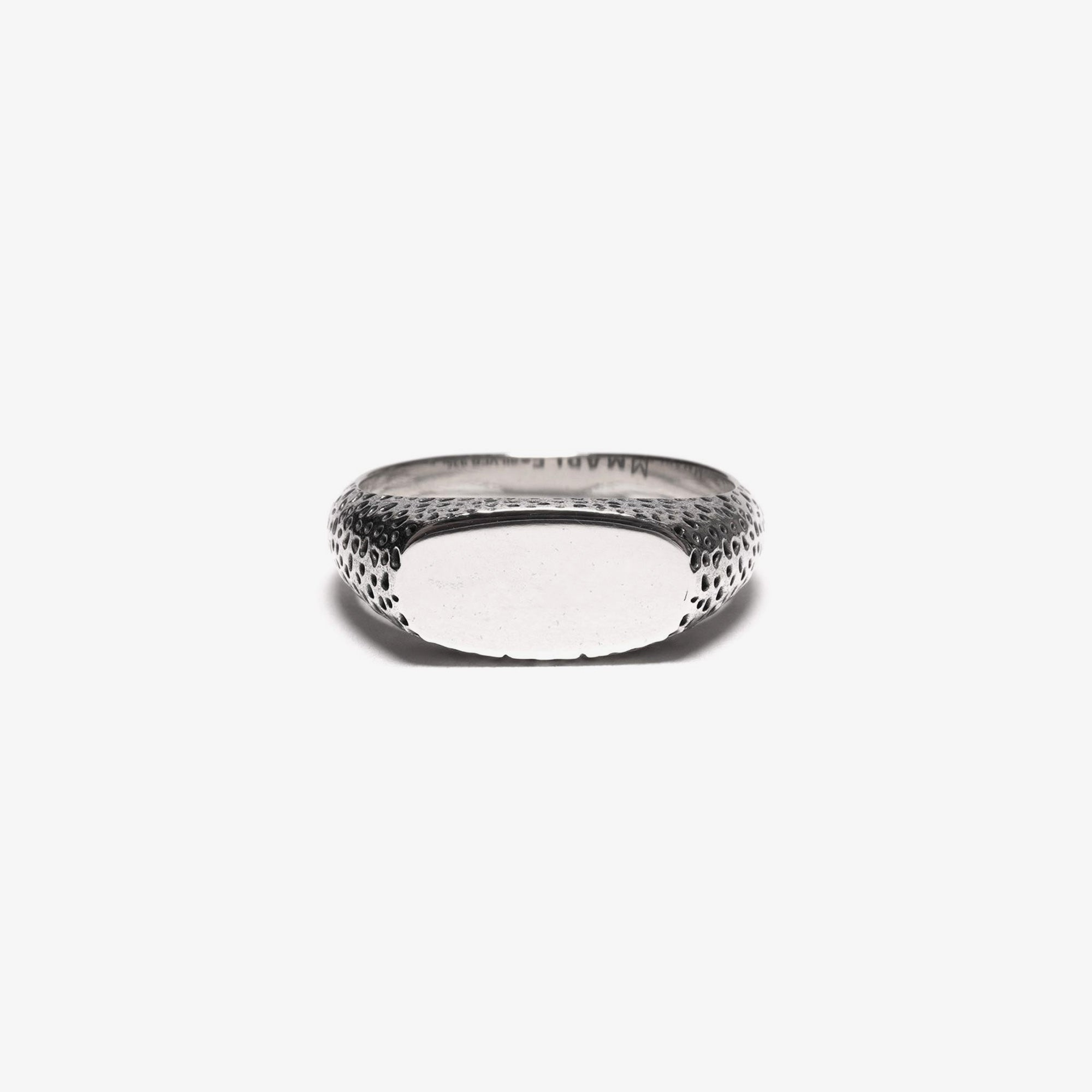 Maple Nugget Ring Slim - Silver 925 1