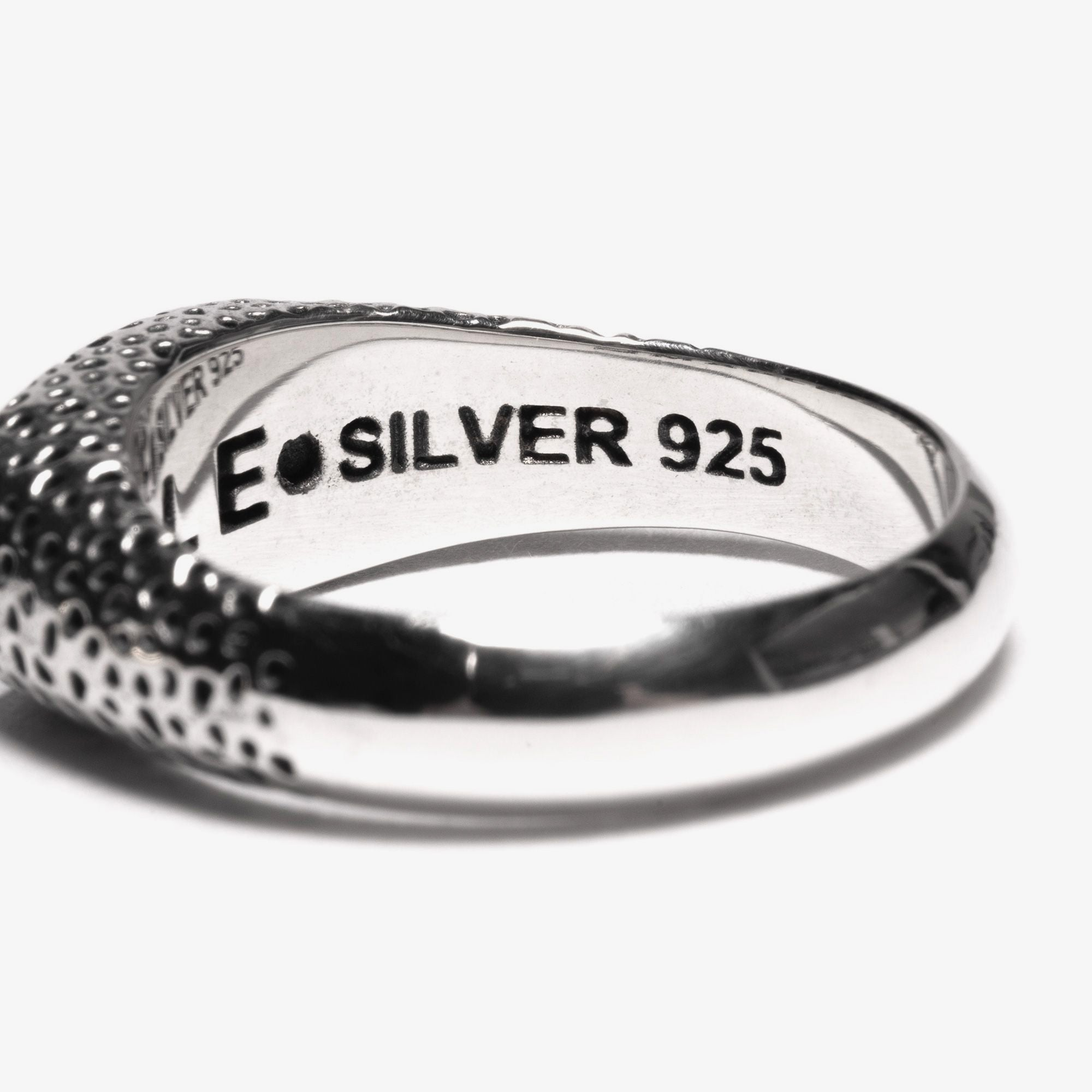Maple Nugget Ring Slim - Silver 925 2