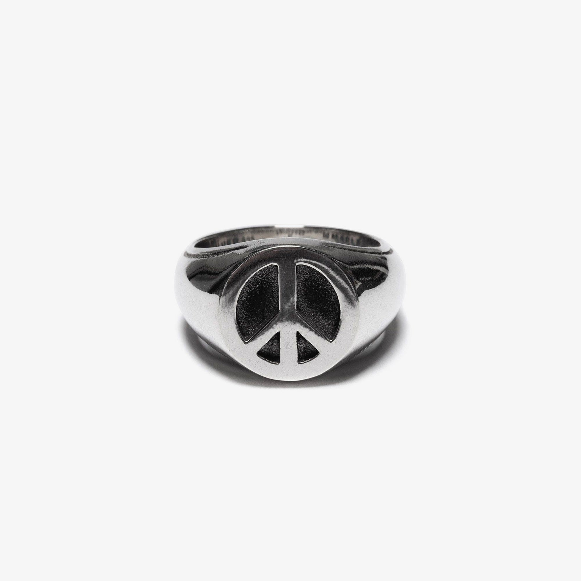 Maple Peace Ring - Silver 1