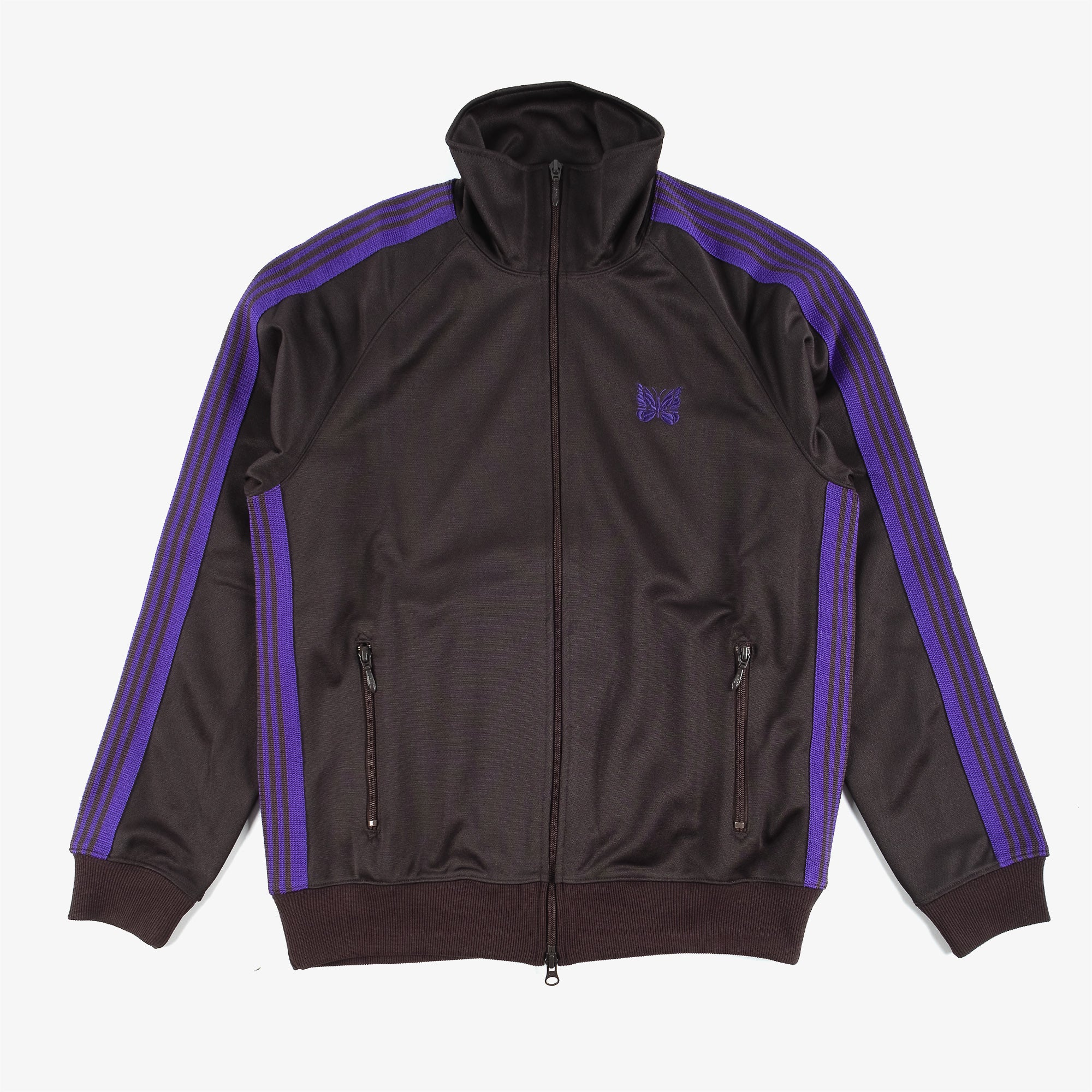 Needles M' Track Jacket Poly Smooth - Charcoal 1