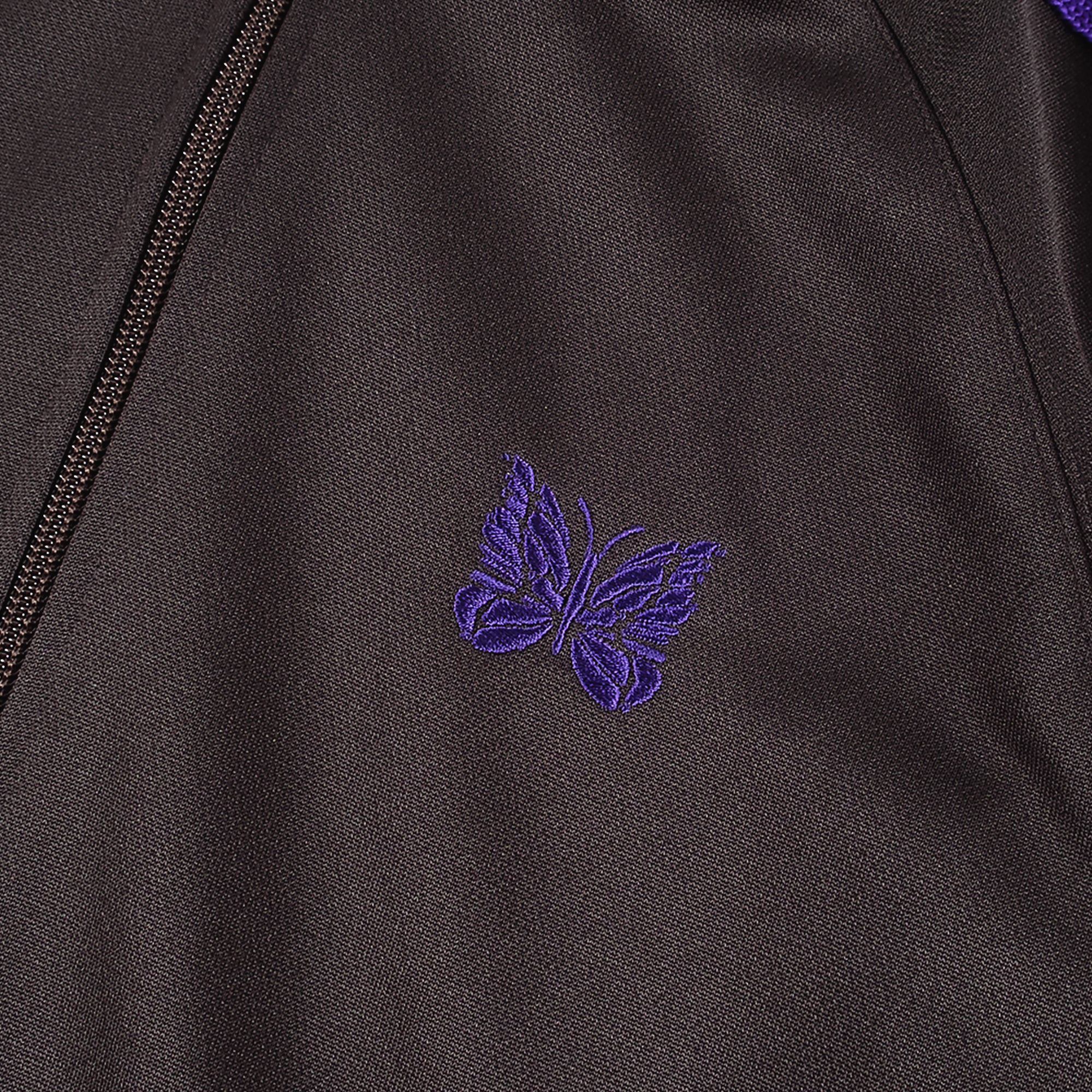 Needles M' Track Jacket Poly Smooth - Charcoal 3