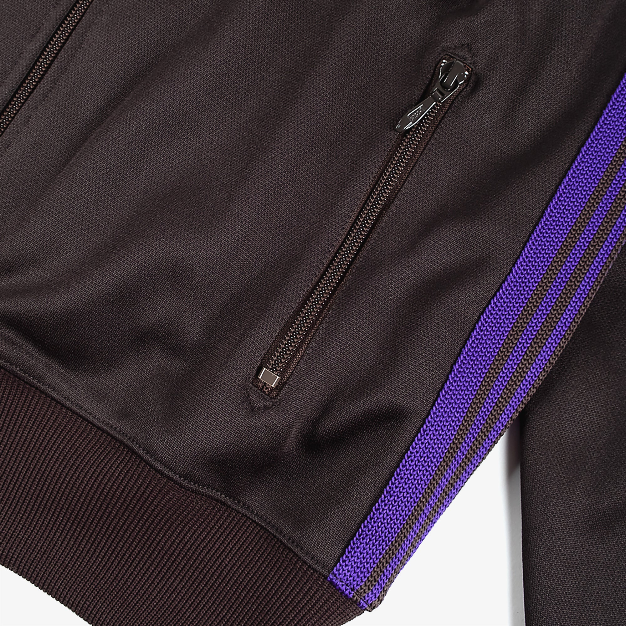 Needles M' Track Jacket Poly Smooth - Charcoal 4