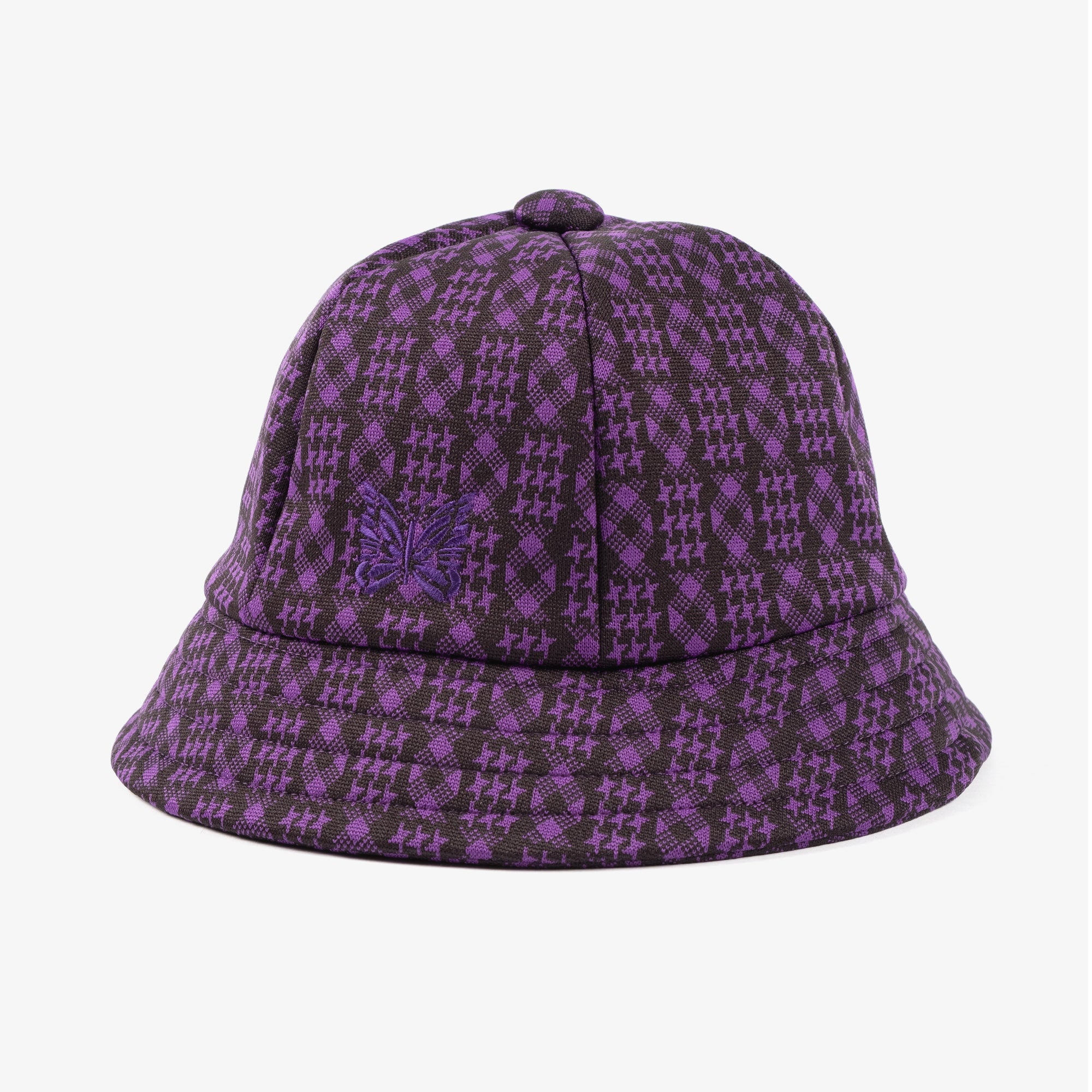Needles Bermuda Hat - Poly Jacquard Houndstooth 1