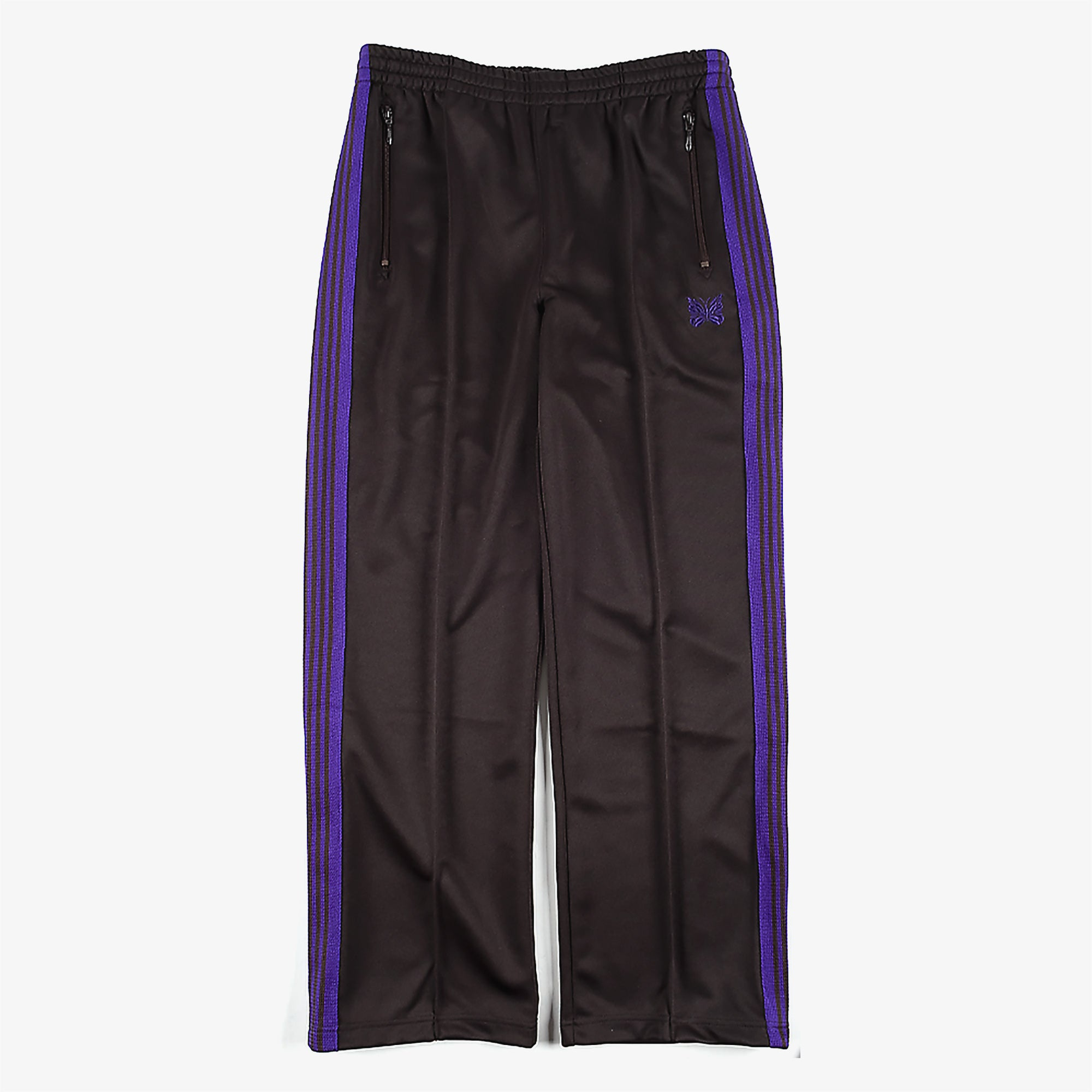 Needles M' Track Pant Poly Smooth - Charcoal 1