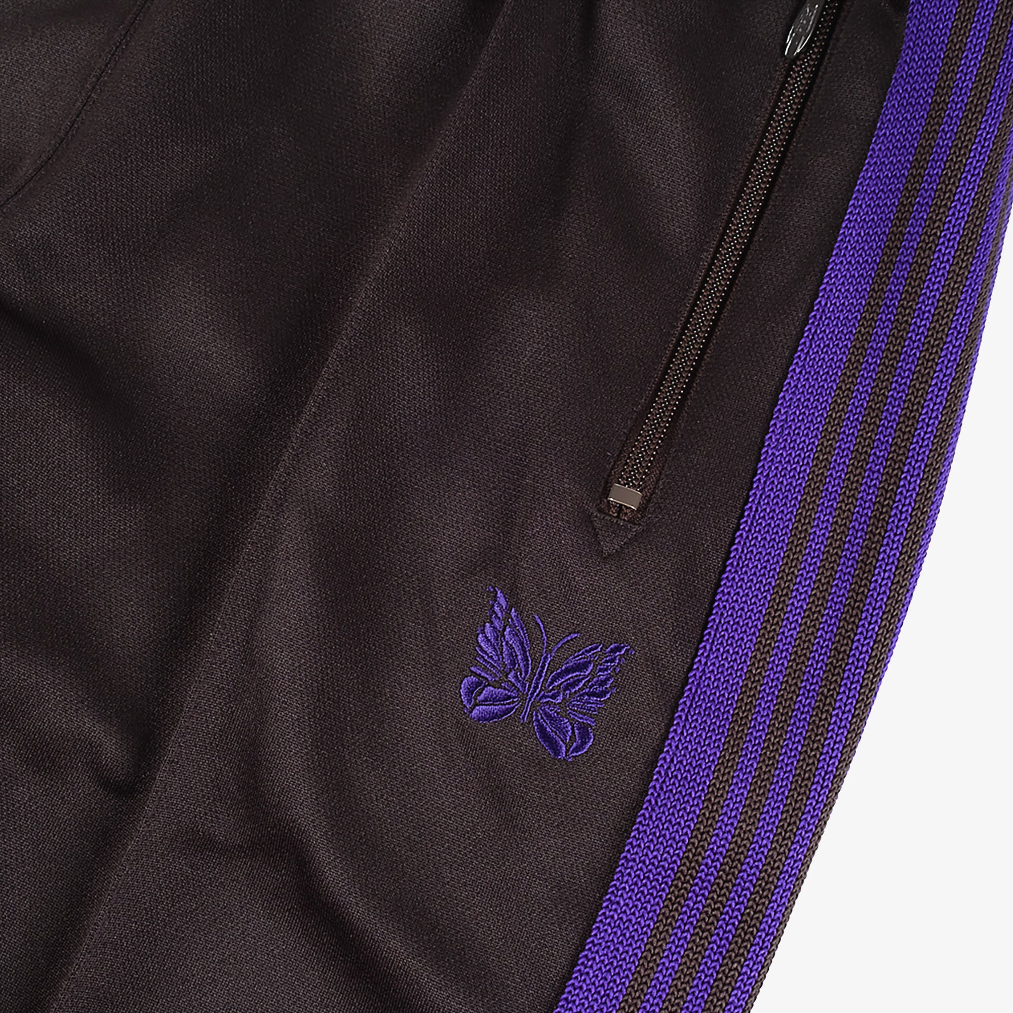 Needles M' Track Pant Poly Smooth - Charcoal 3