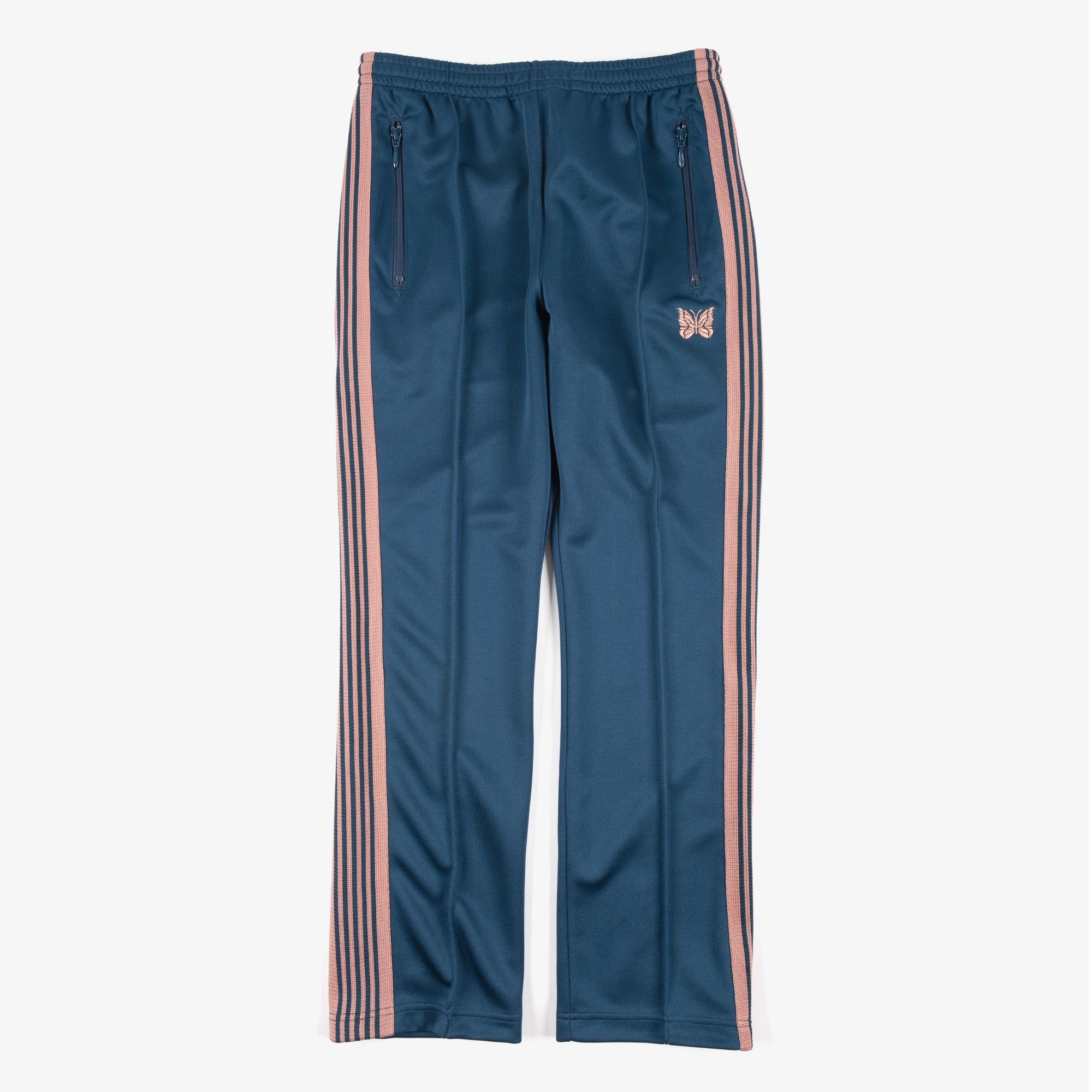 Needles M' Narrow Track Pant - Poly Smooth Teal Green 1