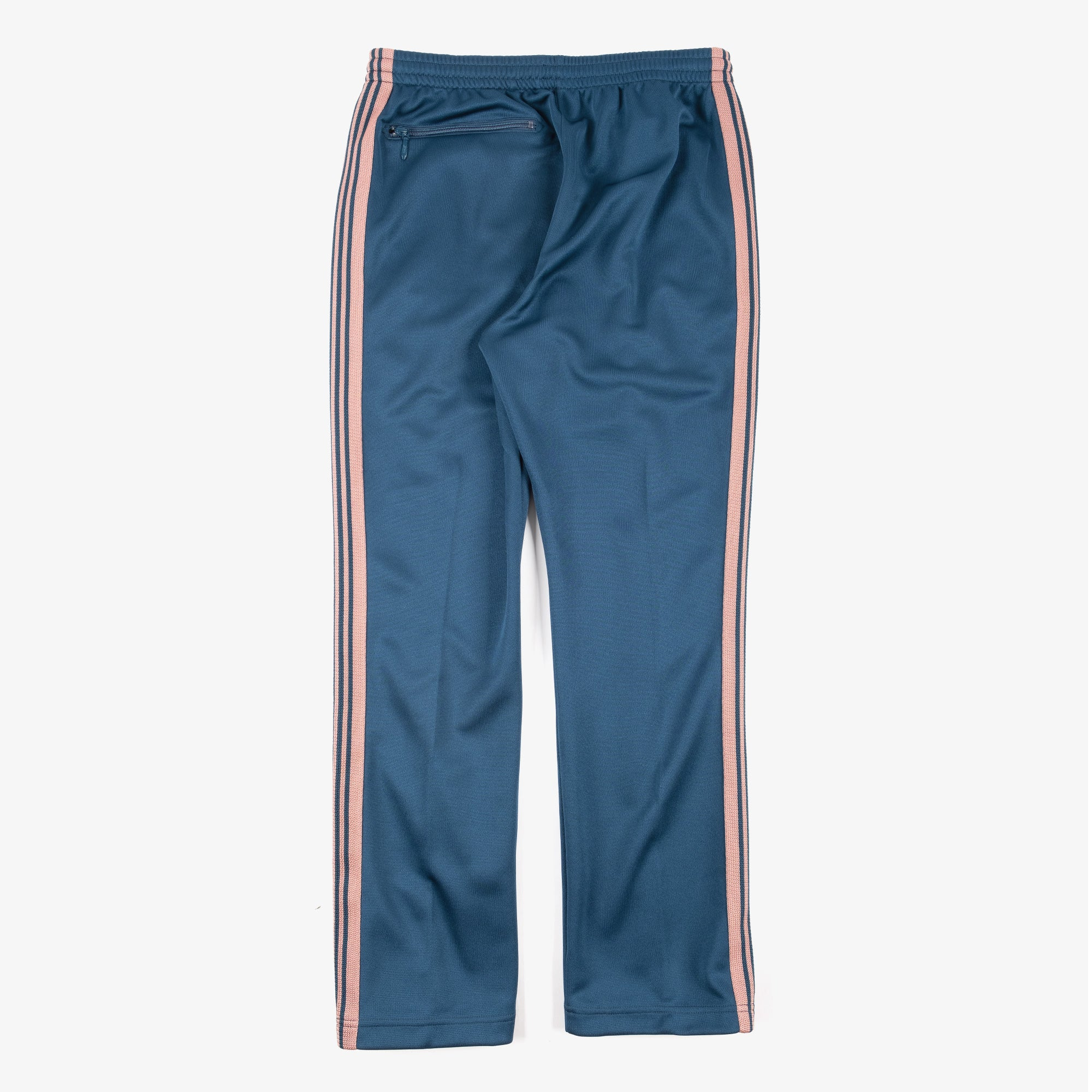 Needles M' Narrow Track Pant - Poly Smooth Teal Green 4