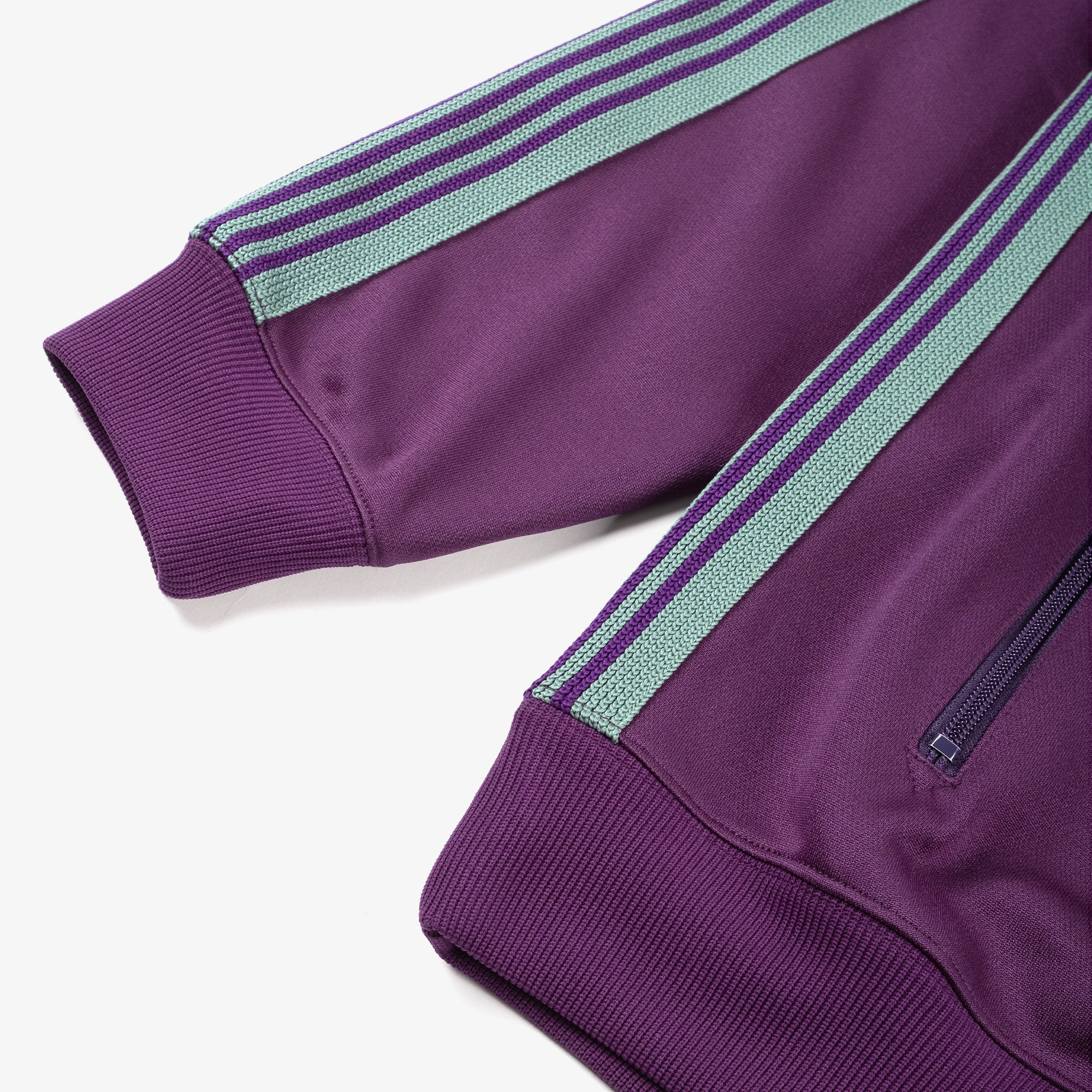 Needles M' Track Jacket - Poly Smooth Eggplant 4