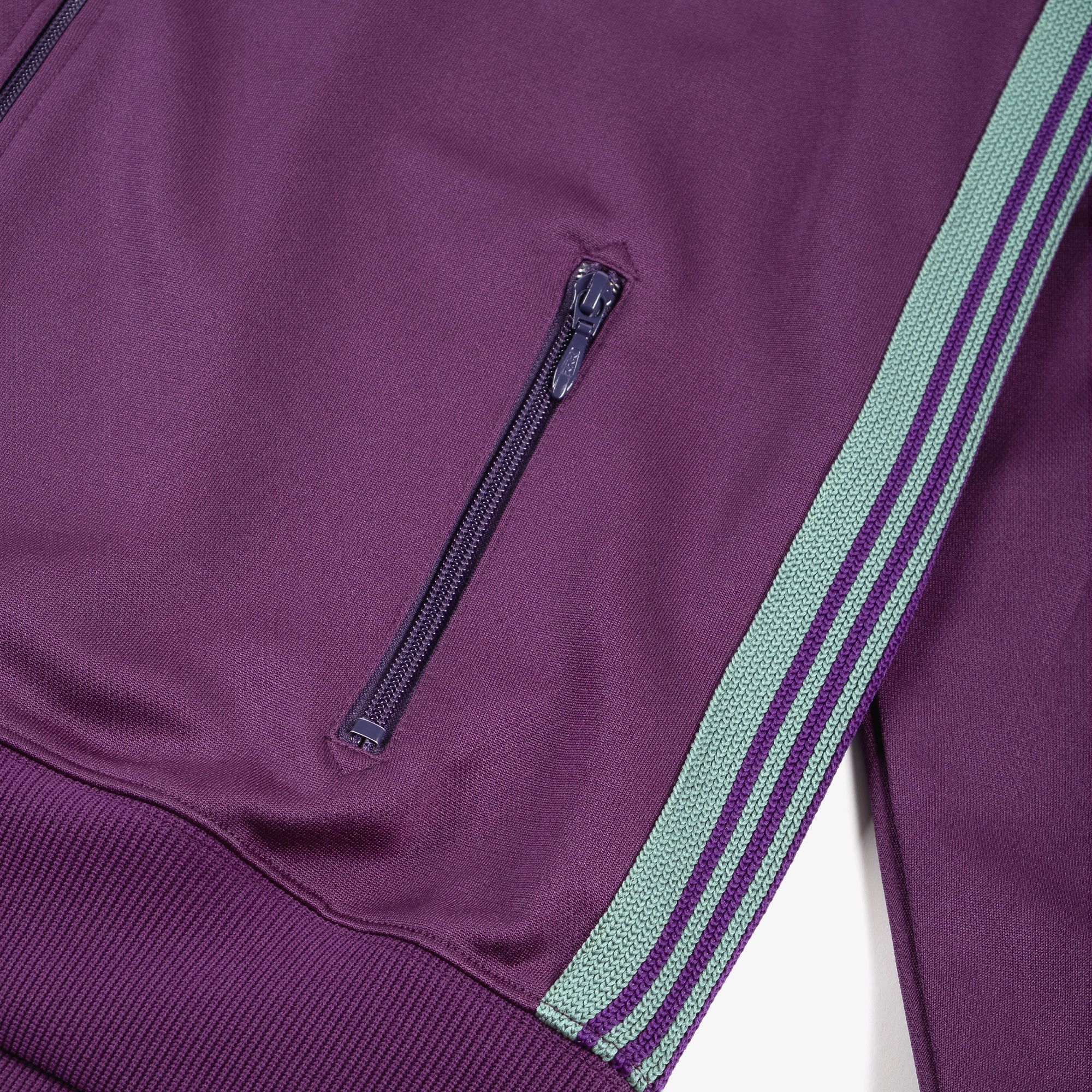 Needles M' Track Jacket - Poly Smooth Eggplant 5