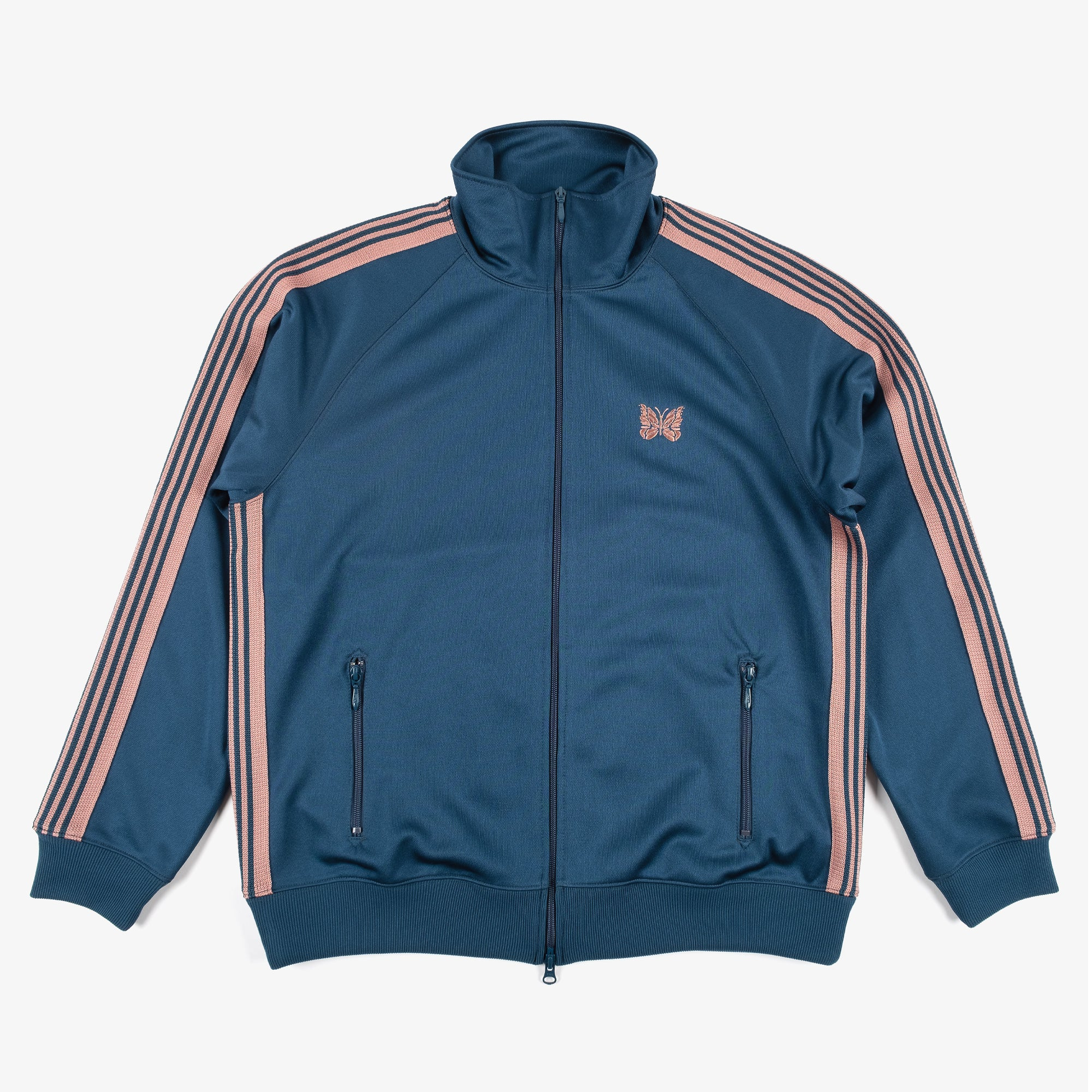 Needles M' Track Jacket - Poly Smooth Teal Green 1