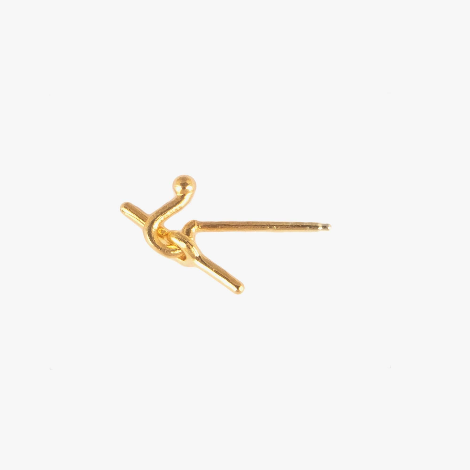 Newend Overhand Stud - Gold Plate 1