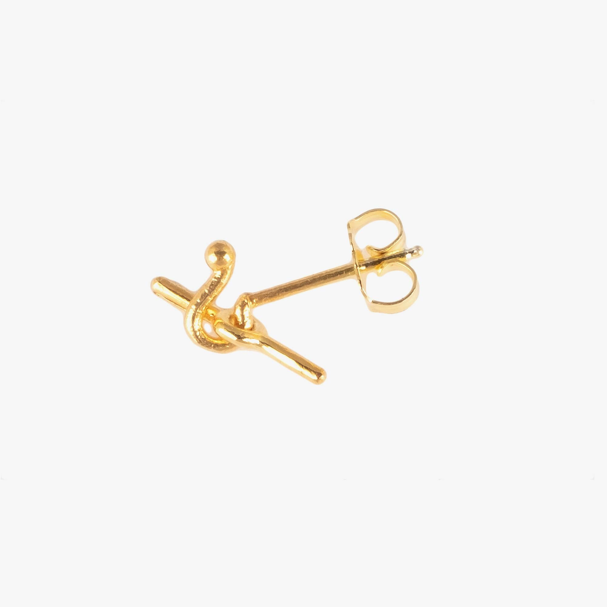 Newend Overhand Stud - Gold Plate 2