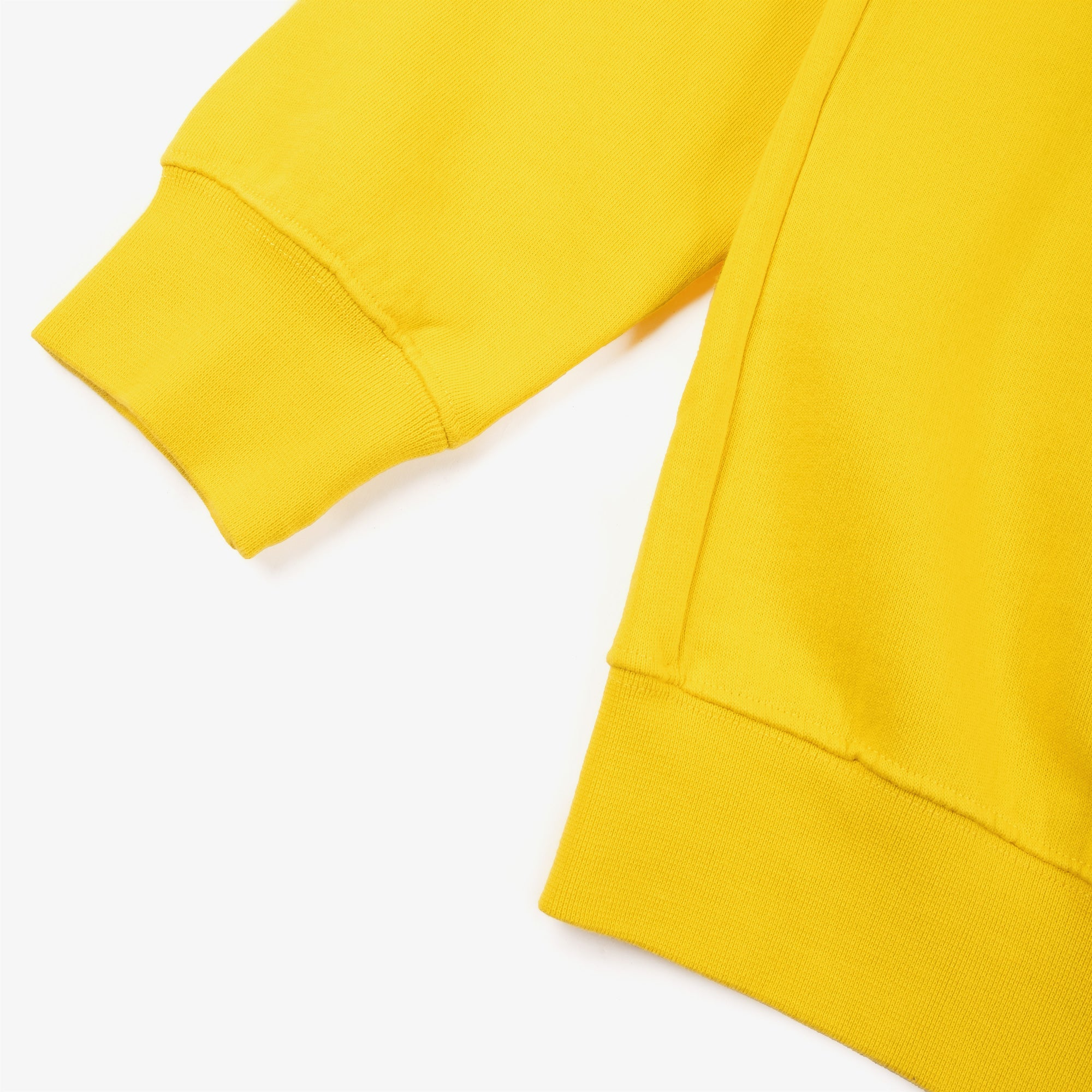 Public Possession Logo Crewneck Sweat - Yellow 3