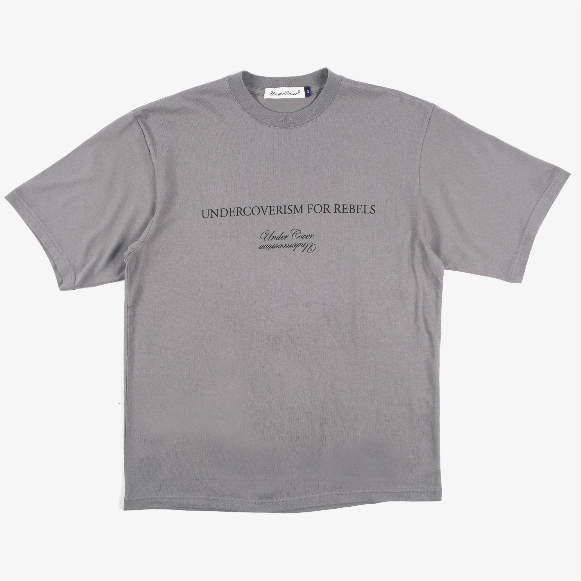 Undercover Blindfold Tee UC2A3807 - Blue Gray 1