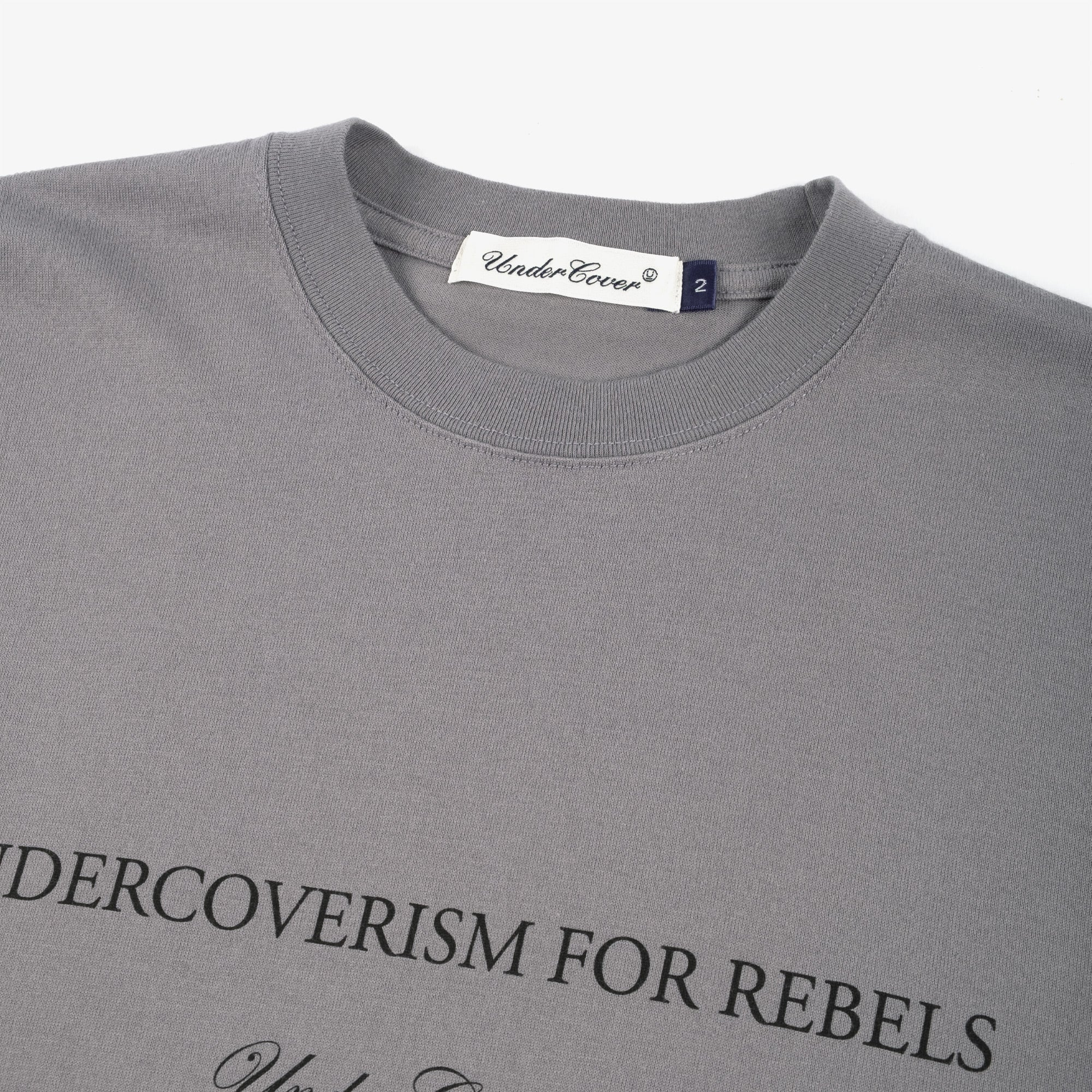 Undercover Blindfold Tee UC2A3807 - Blue Gray 3