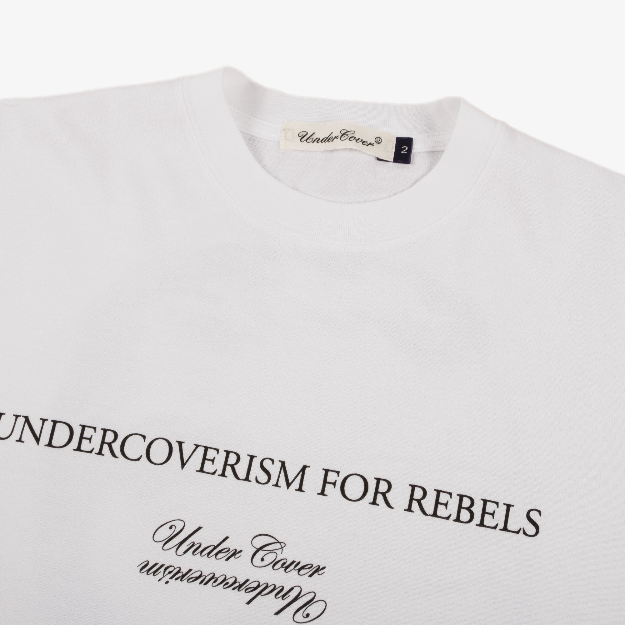 Undercover Blindfold Tee UC2A3807 - White 3