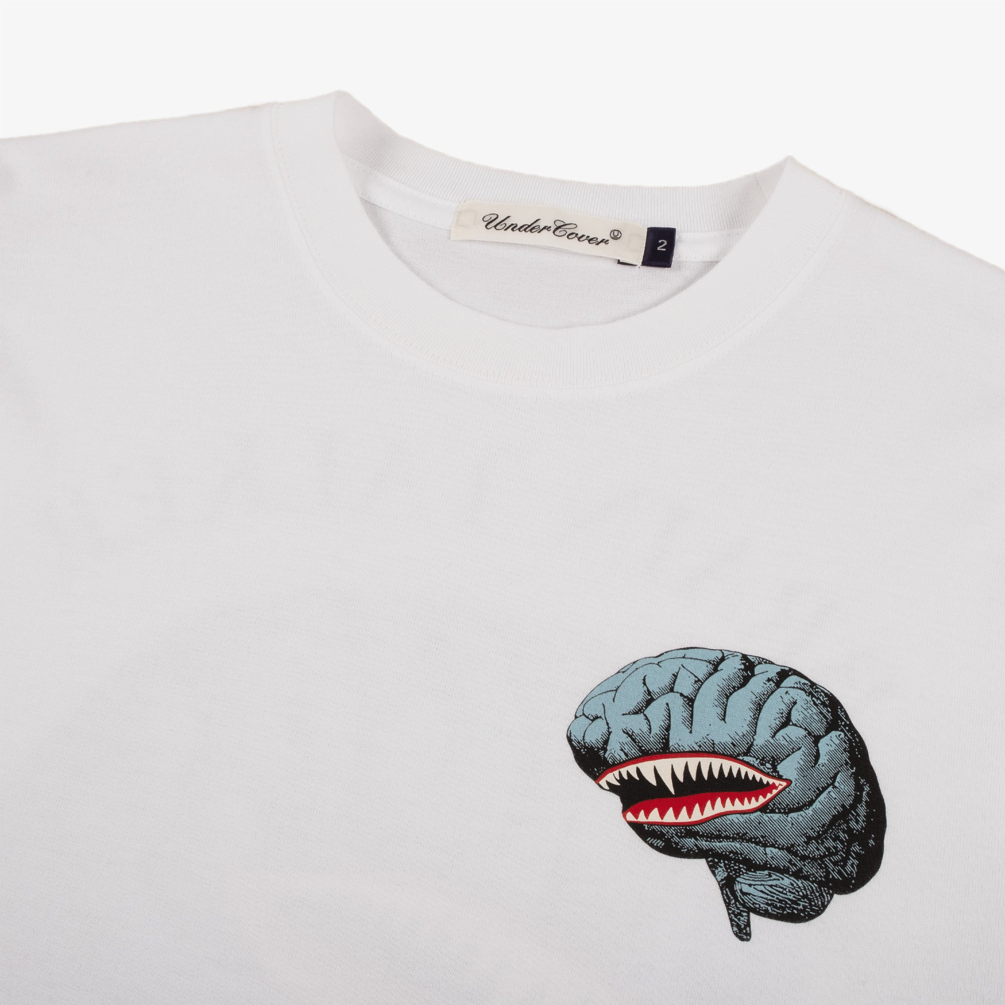 Undercover Brains Tee UC2A4892-1 - White 3