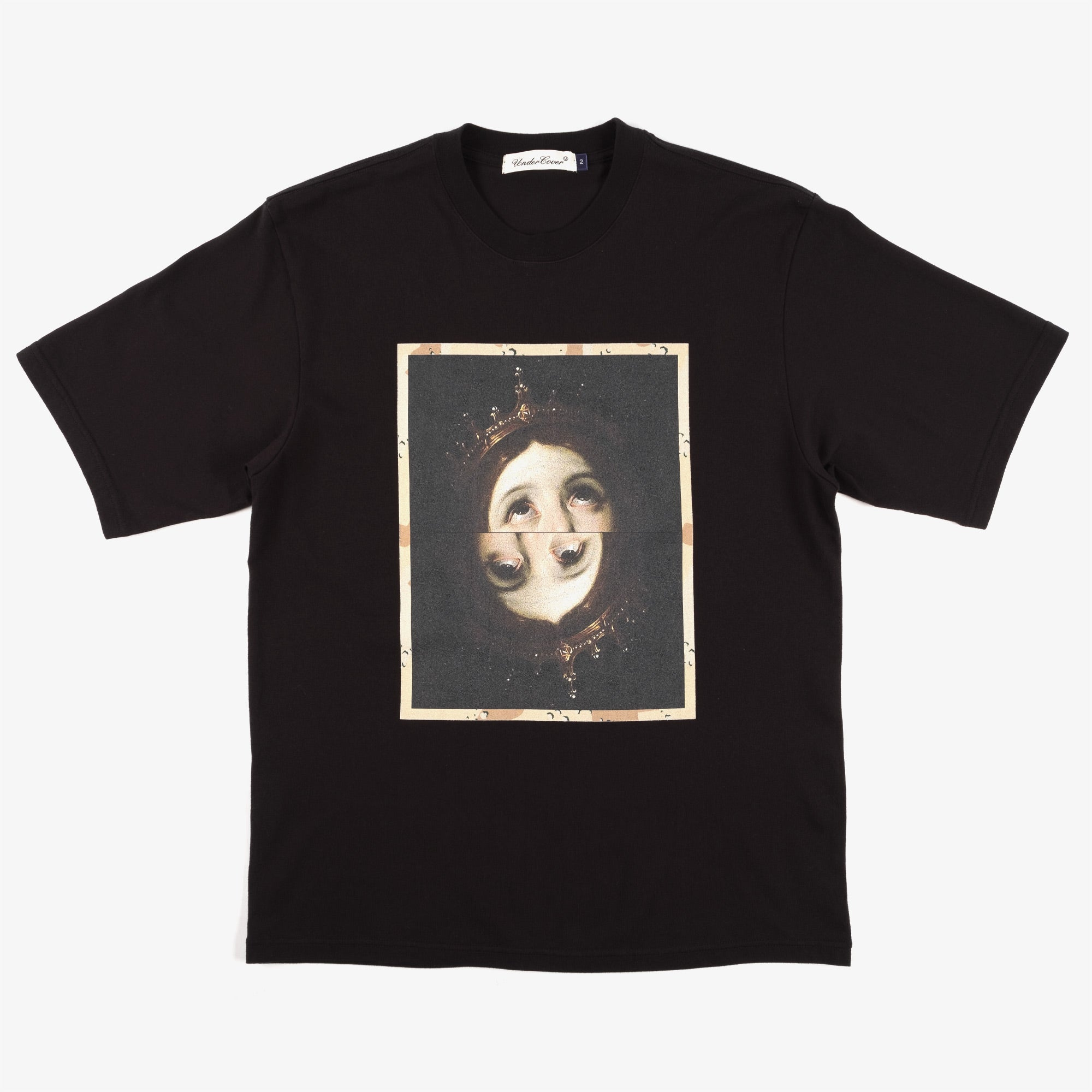 Undercover Two Faces Tee UC2A3804 - Black 1