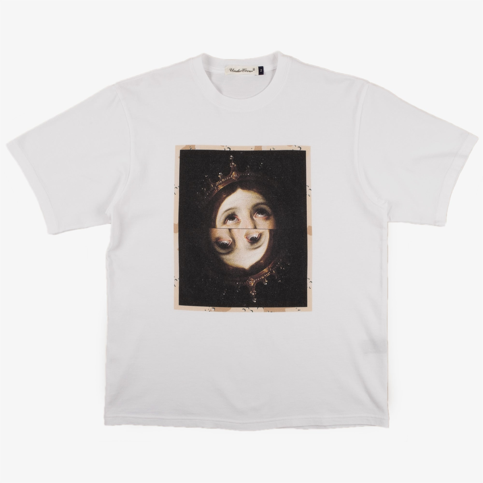 Undercover Two Faces Tee UC2A3804 - White 1