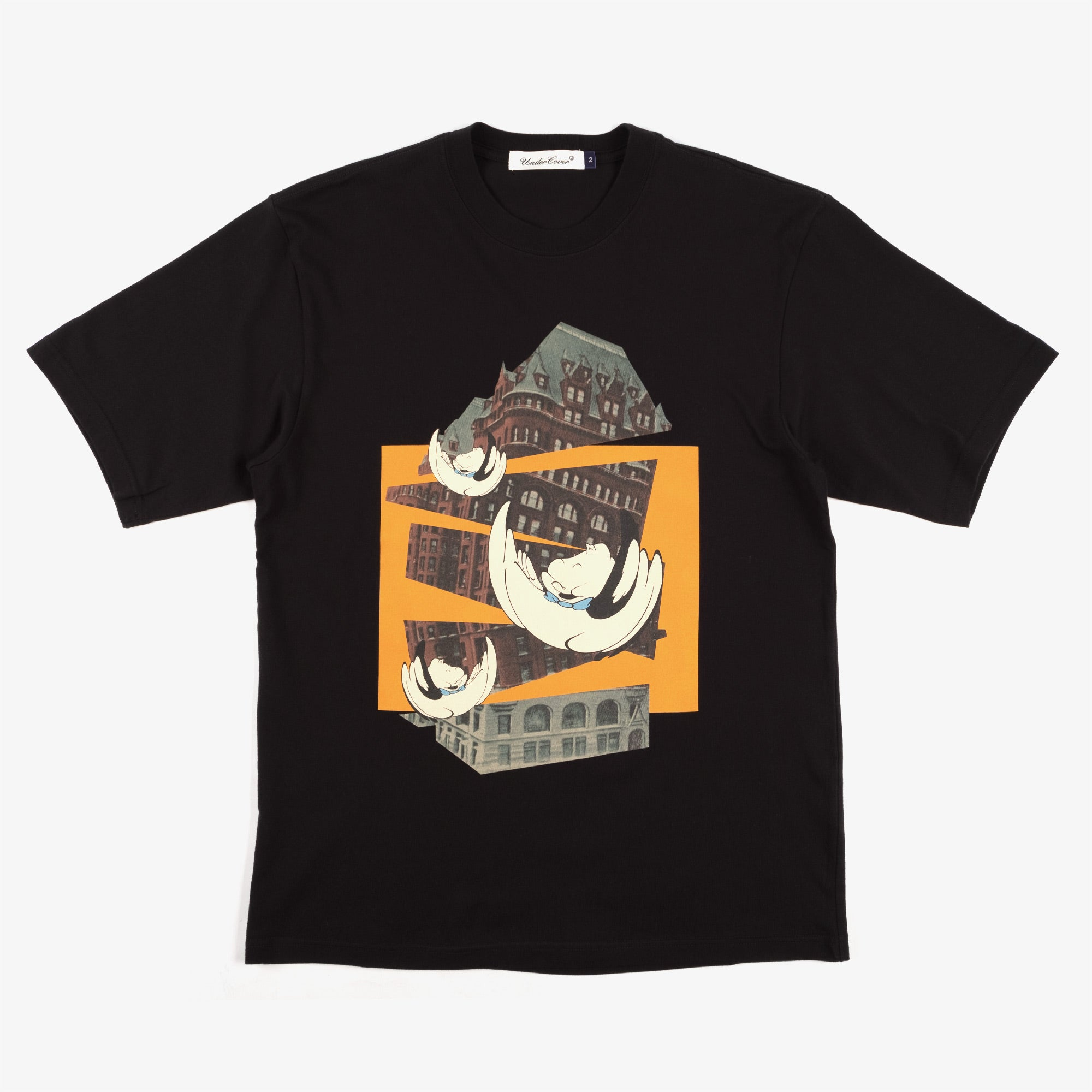 Undercover Ghost Tee UC2A3803 - Black 1