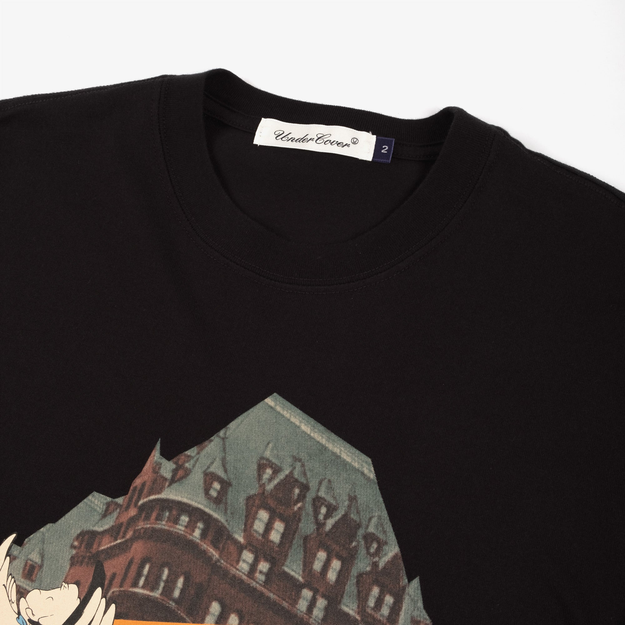 Undercover Ghost Tee UC2A3803 - Black 2