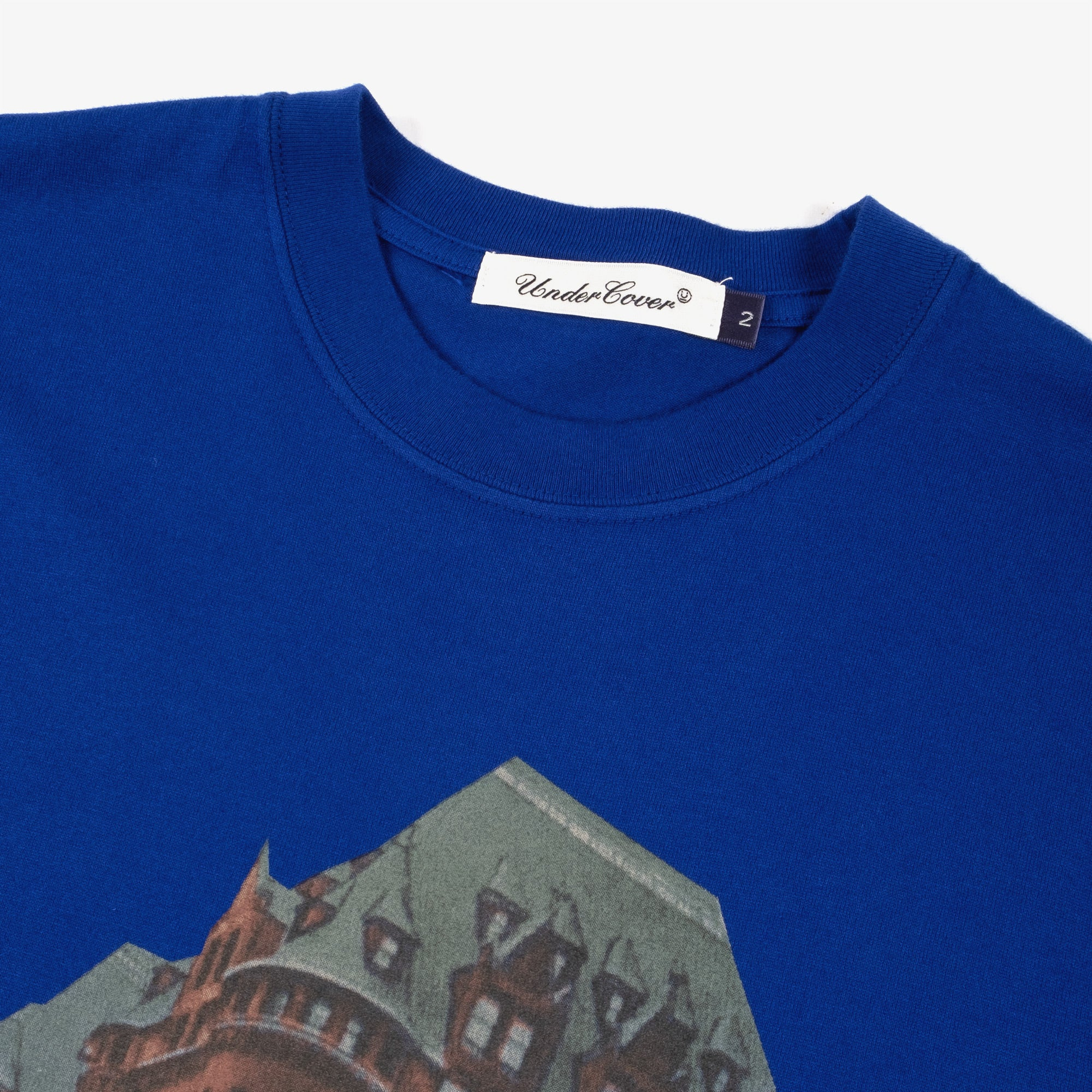 Undercover Ghost Tee UC2A3803 - Blue 2