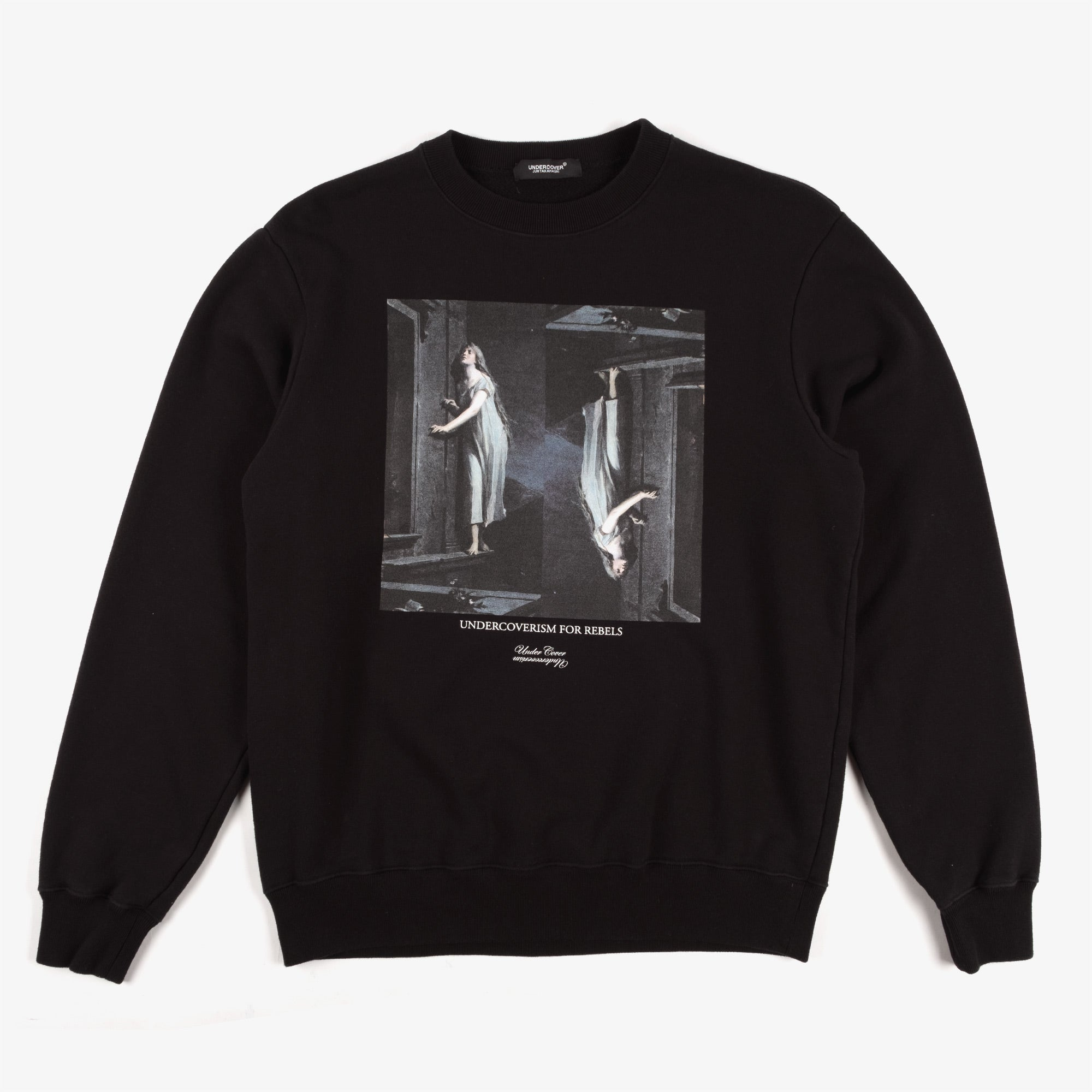 Undercover Painting Sweat UC2A4893-2 - Black 1