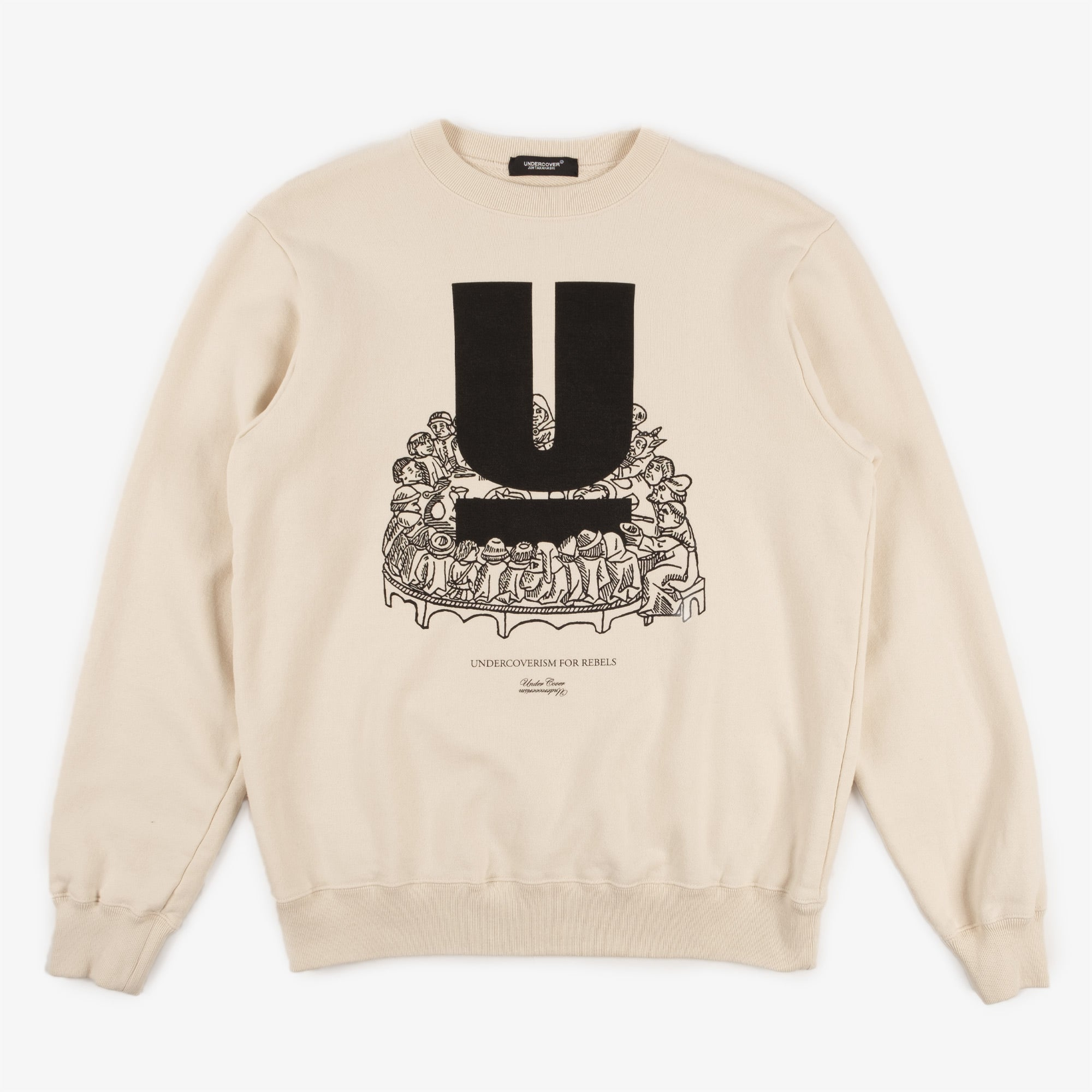 Undercover U Table Sweat UC2A4893-4 - Ivory 1