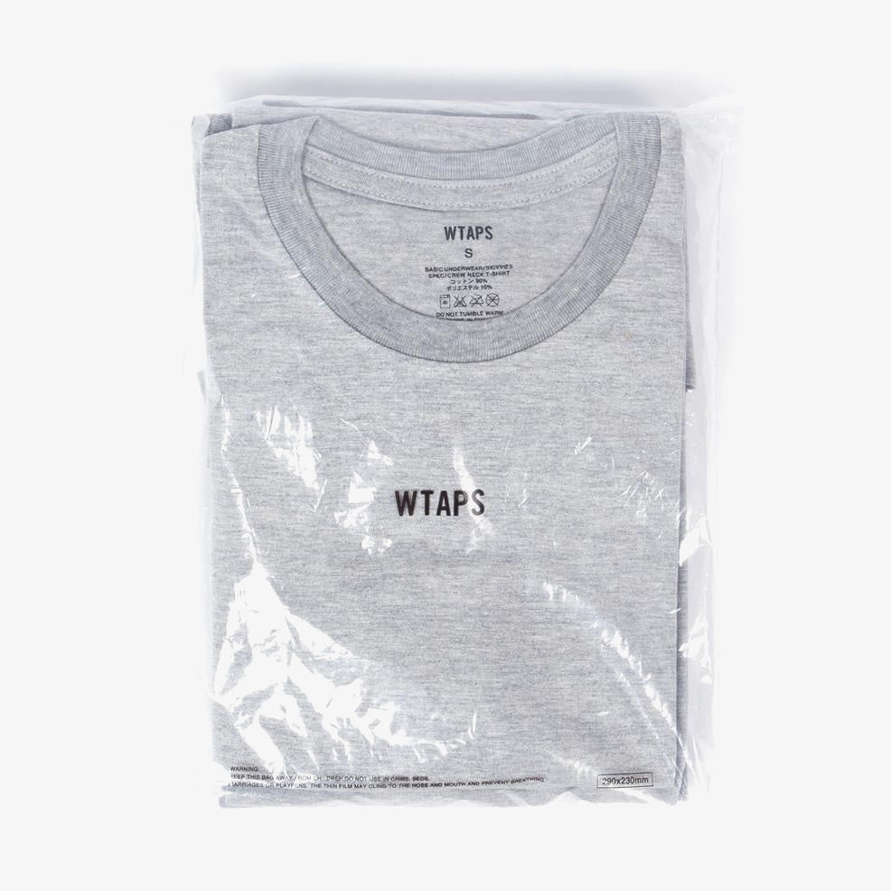 WTAPS Skivvies Tee 3 Pack - Grey 1