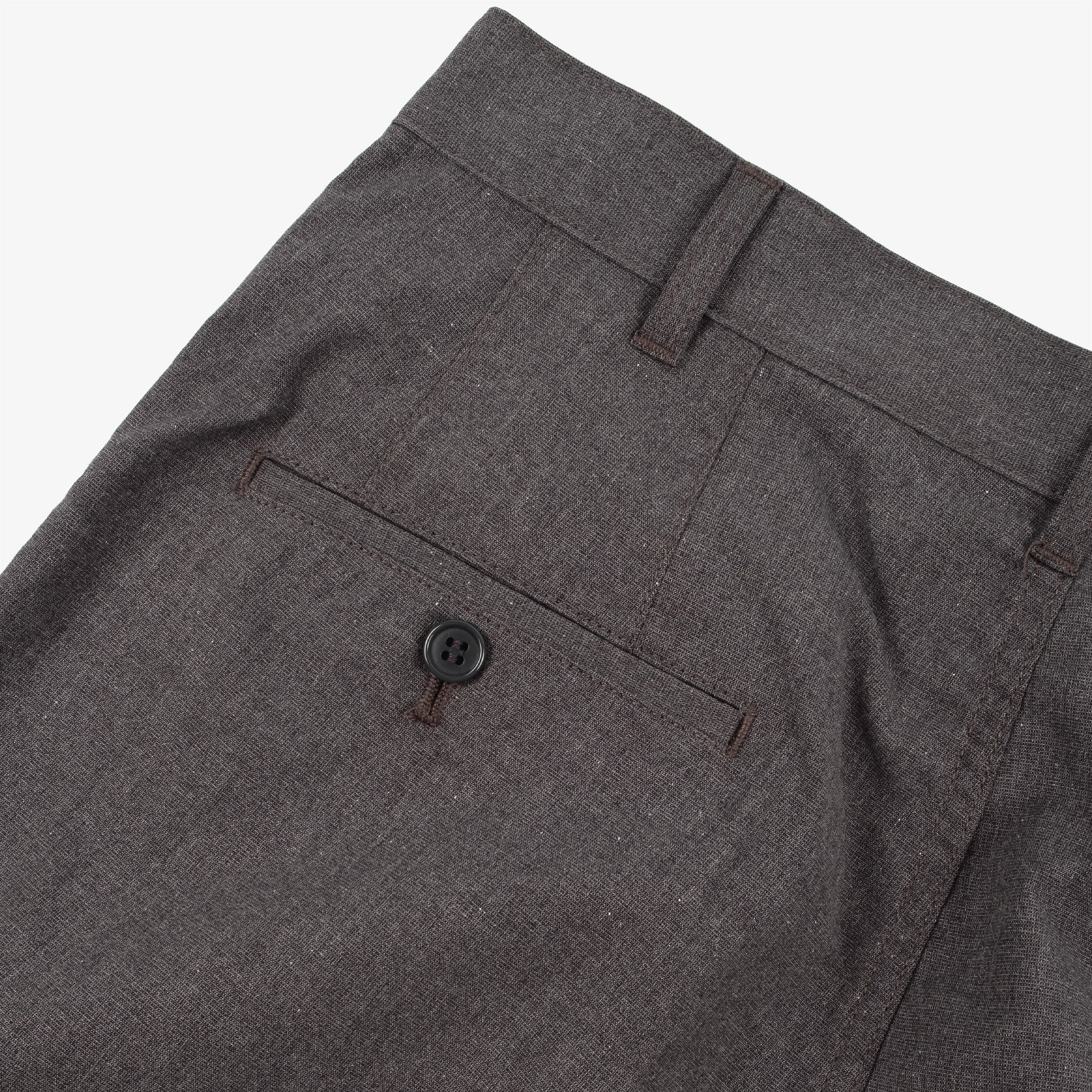 Comme des Garçons - Homme Two Tuck Wide Pleat Trousers - Grey 6