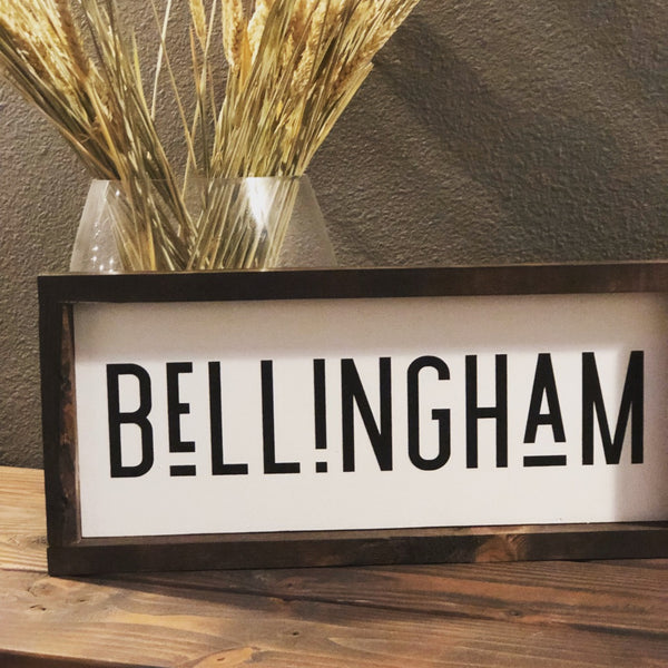 Customize City Sign for your City/State/County.  21x7