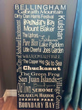 Customize City Sign for your City/State/County.  12x24
