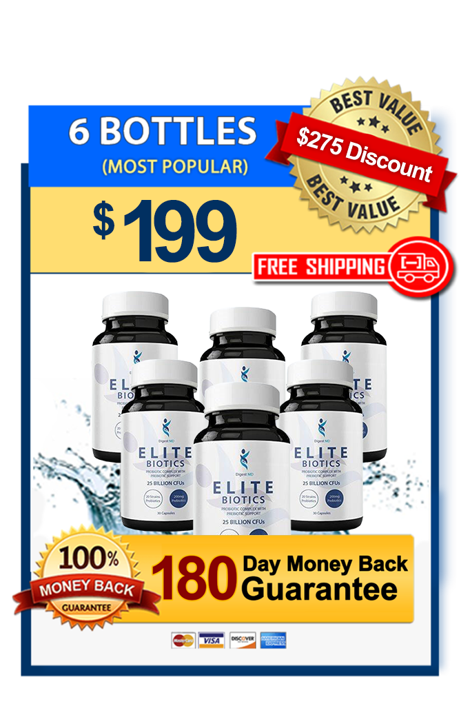 Elite Biotics - 6 Bottles - Video Offer